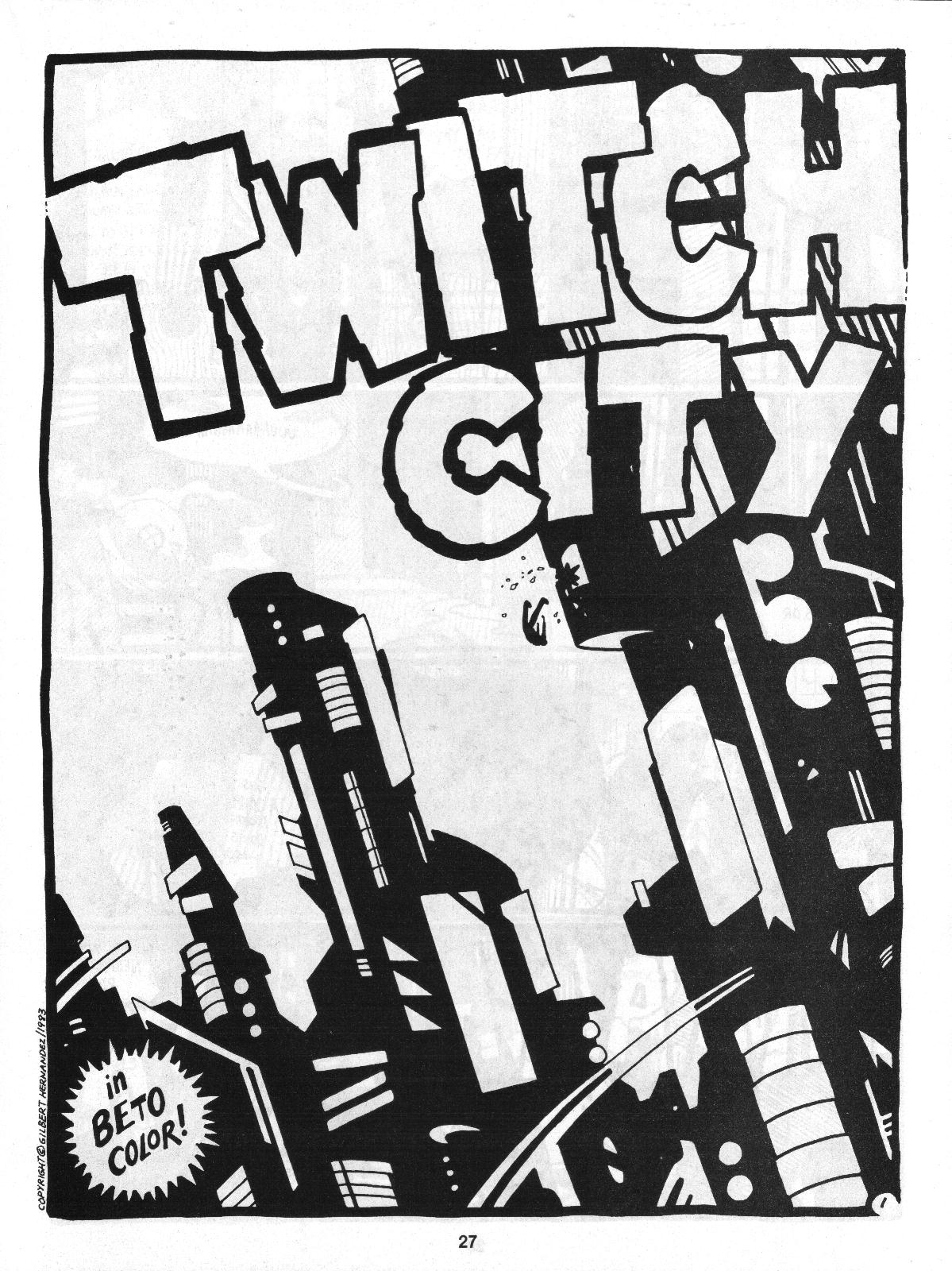 Love and Rockets (1982) Issue #4 #3 - English 29