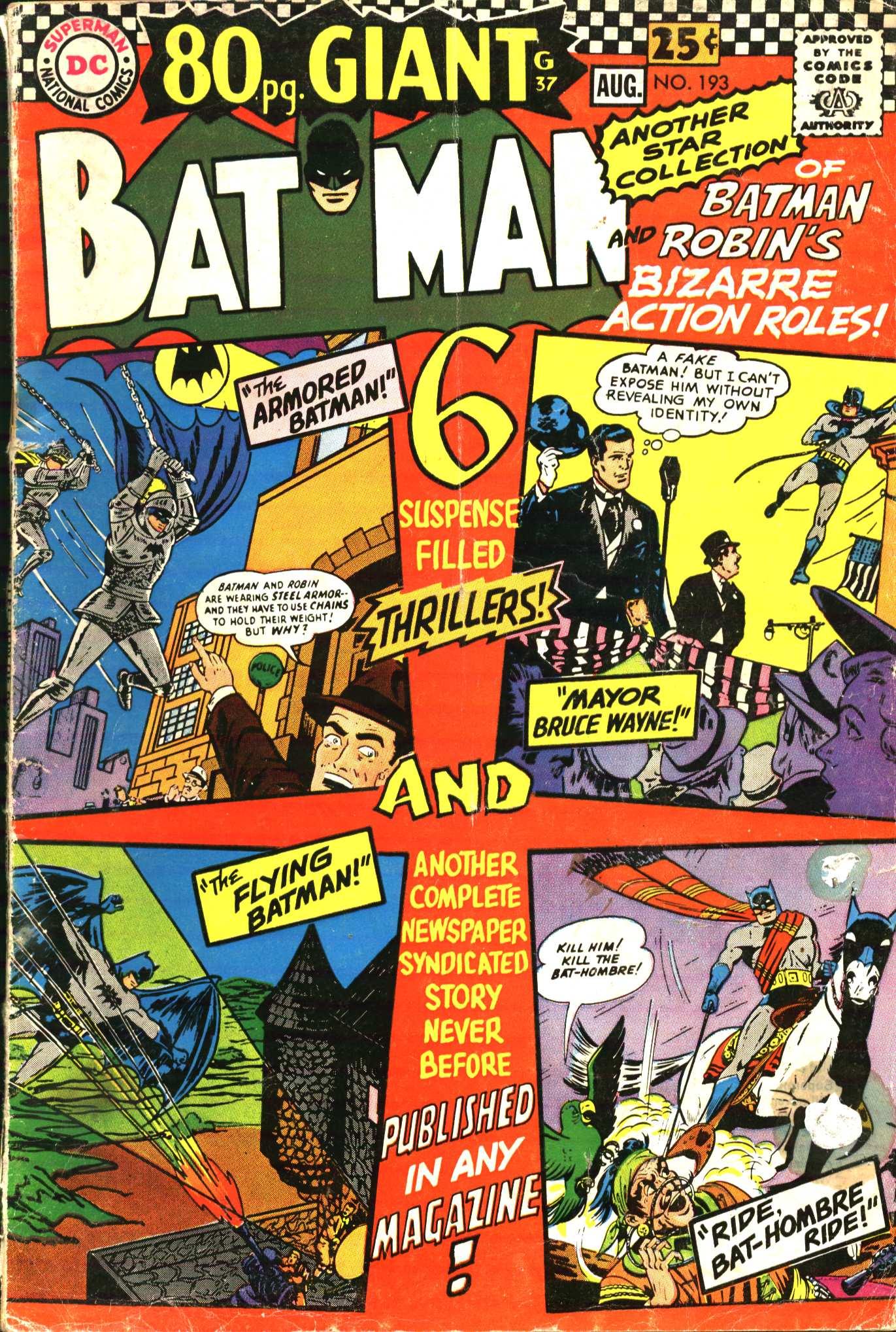 Batman (1940) 193 Page 1