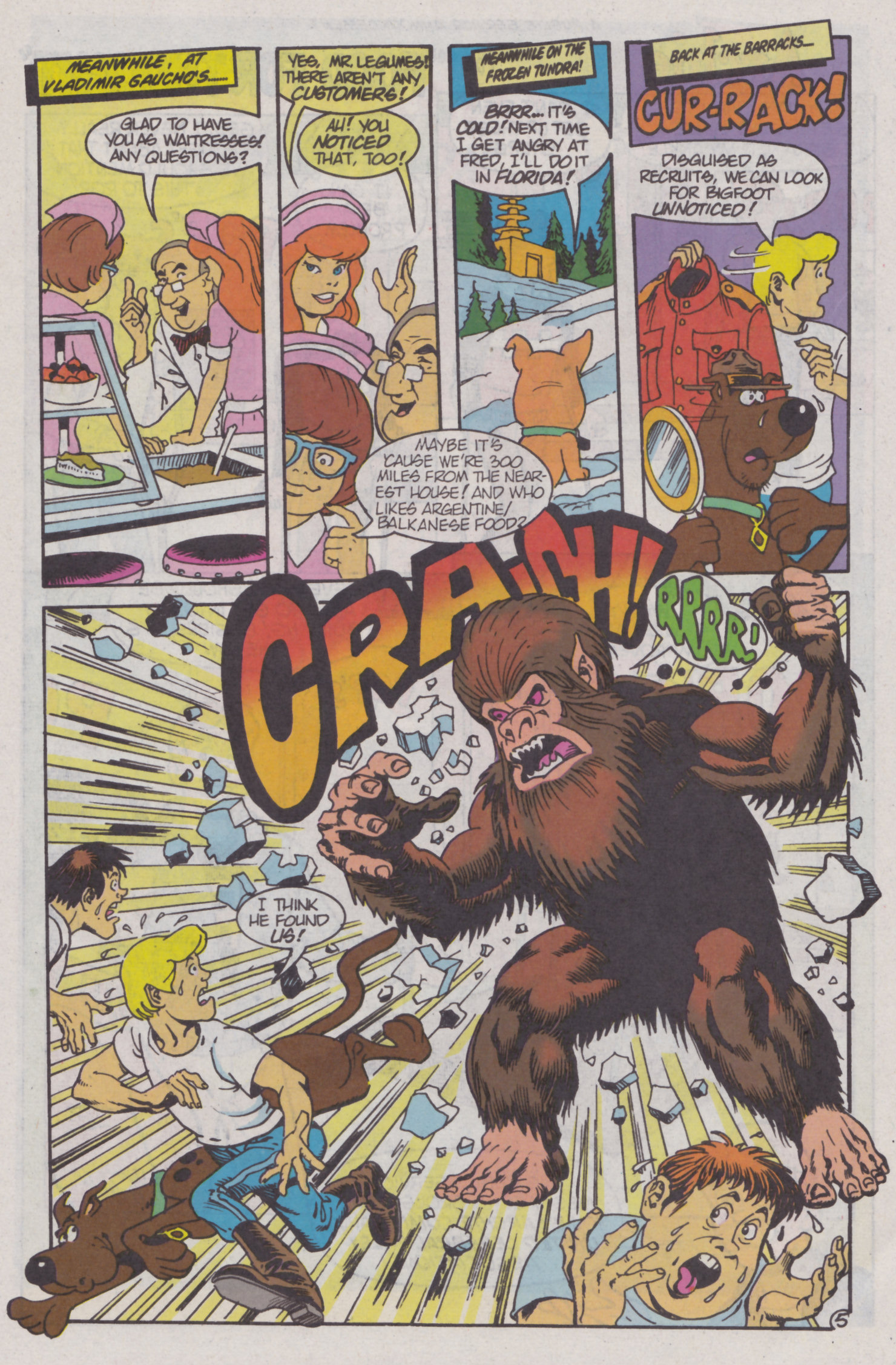 Read online Scooby-Doo (1995) comic -  Issue #4 - 6