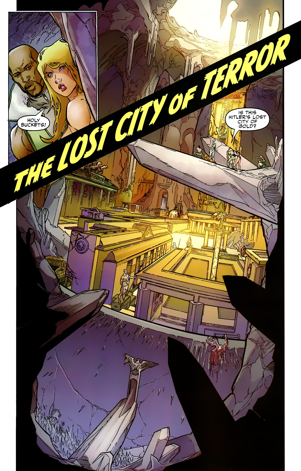 Read online Shanna the She-Devil: Survival of the Fittest comic -  Issue #2 - 11