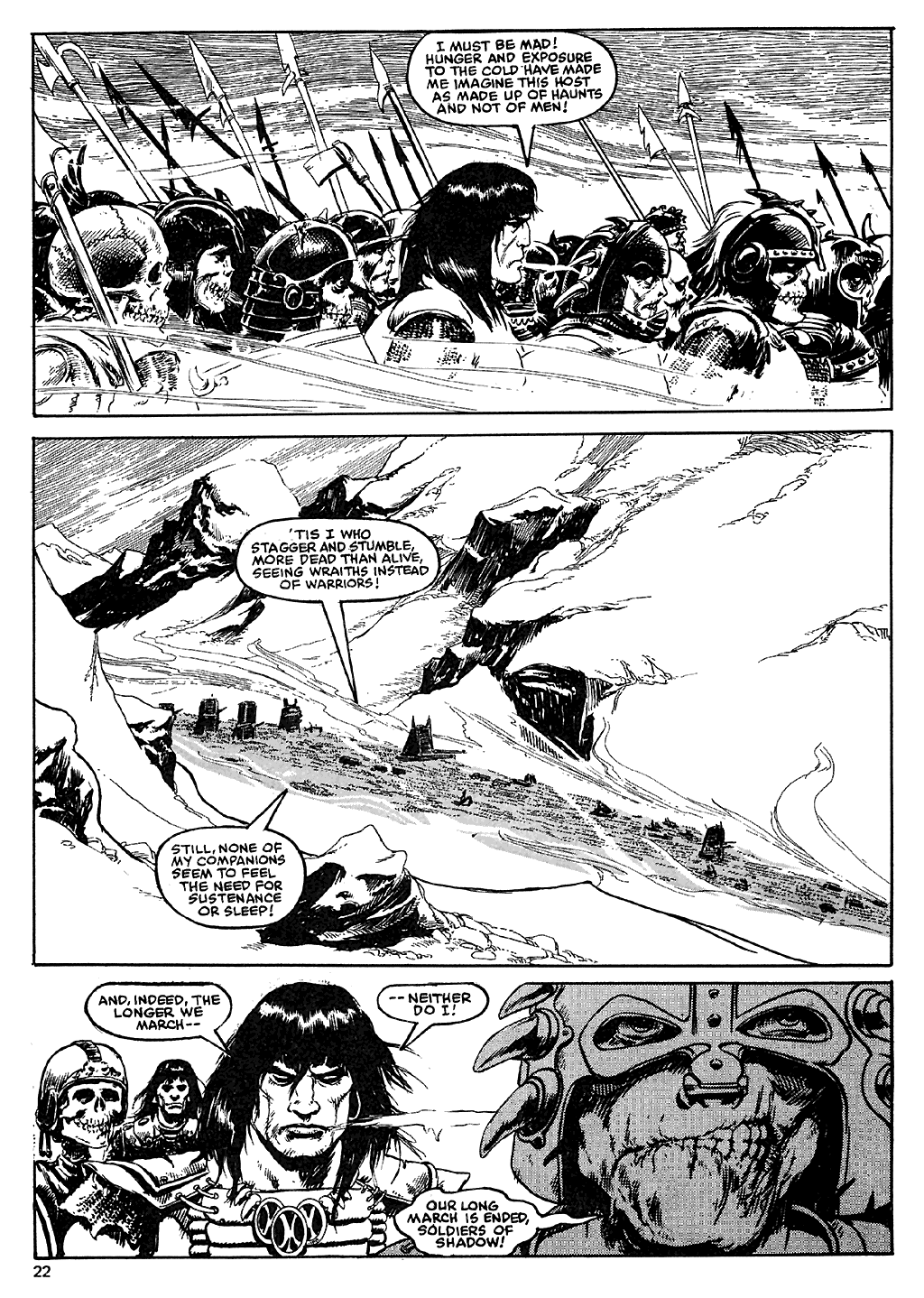 The Savage Sword Of Conan Issue #110 #111 - English 22