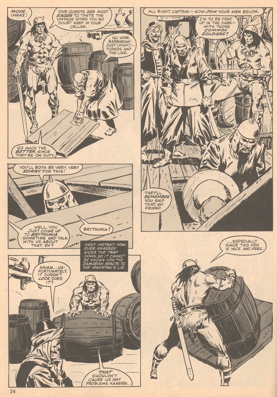 The Savage Sword Of Conan Issue #56 #57 - English 24