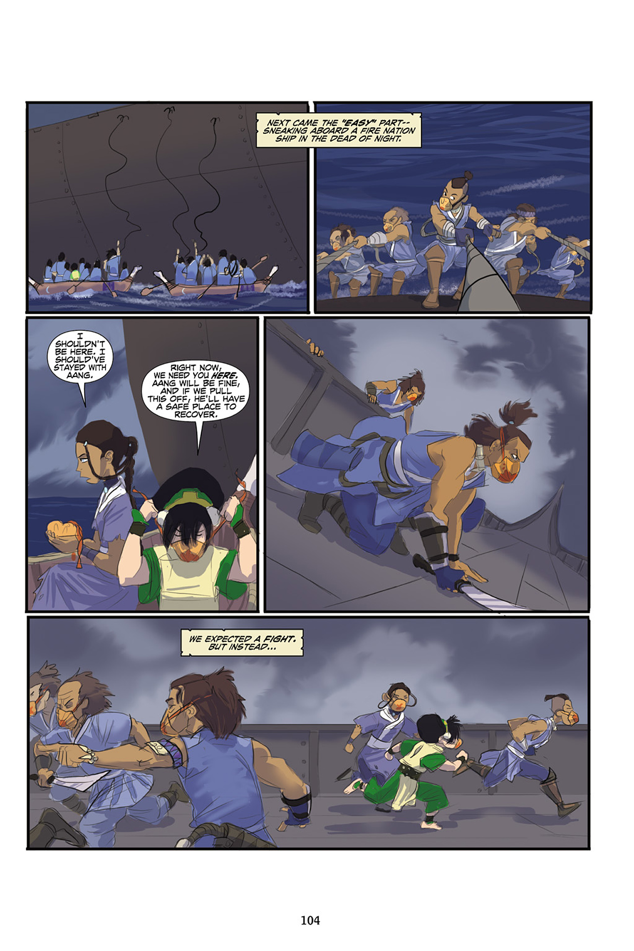 Nickelodeon Avatar: The Last Airbender - The Lost Adventures chap full pic 105