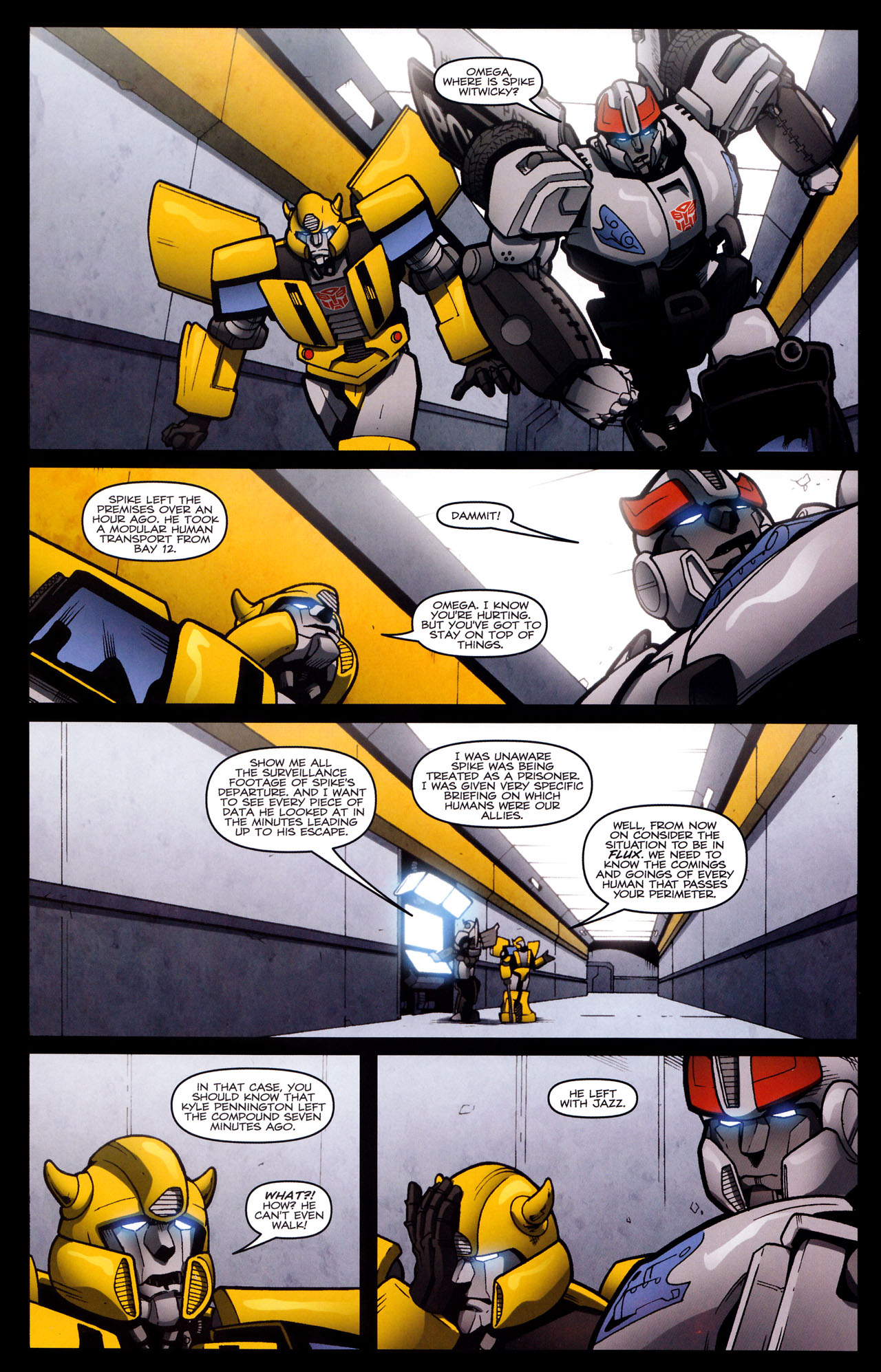 Read online The Transformers (2009) comic -  Issue #29 - 20