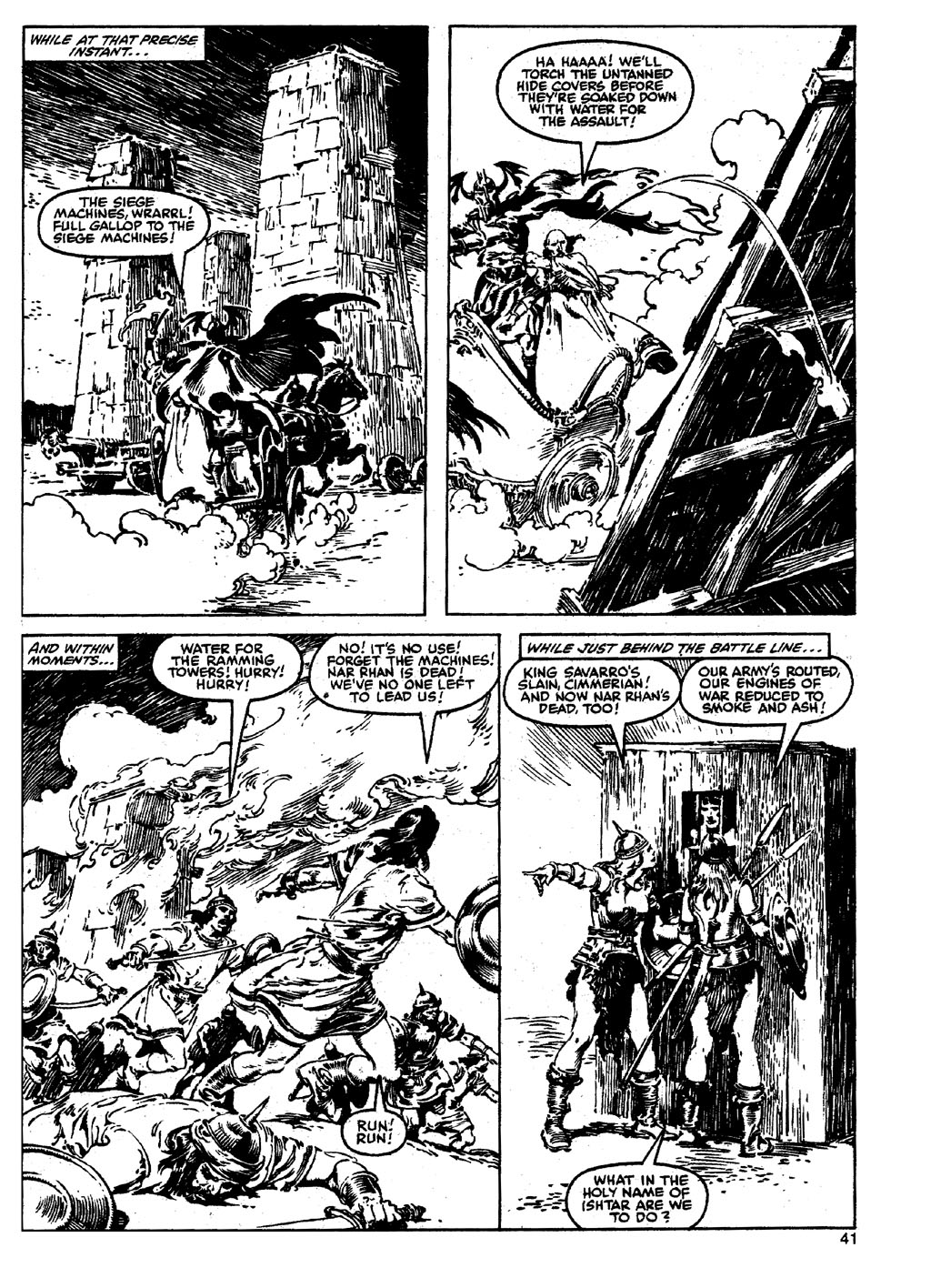 The Savage Sword Of Conan Issue #90 #91 - English 40