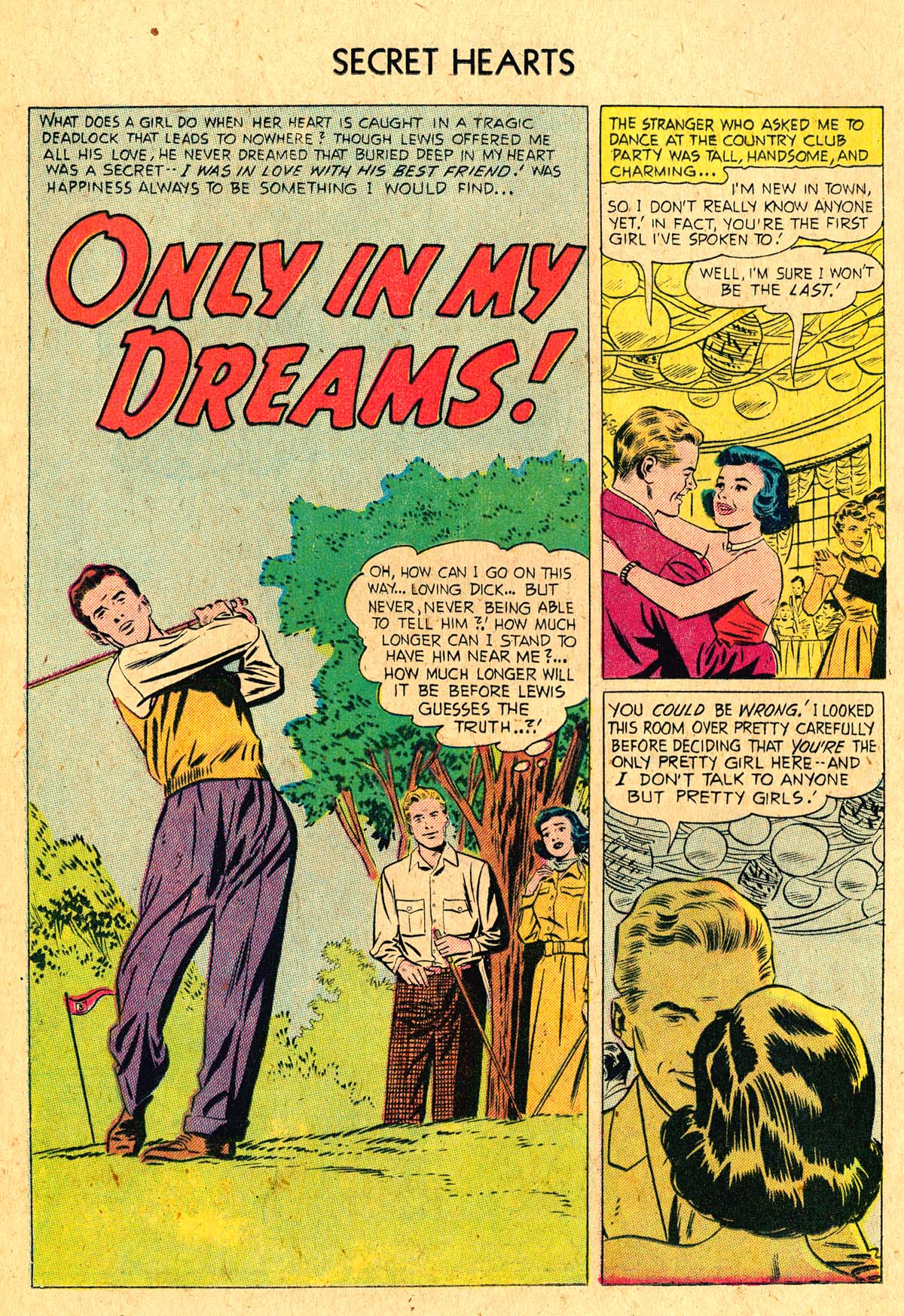 Read online Secret Hearts comic -  Issue #36 - 12