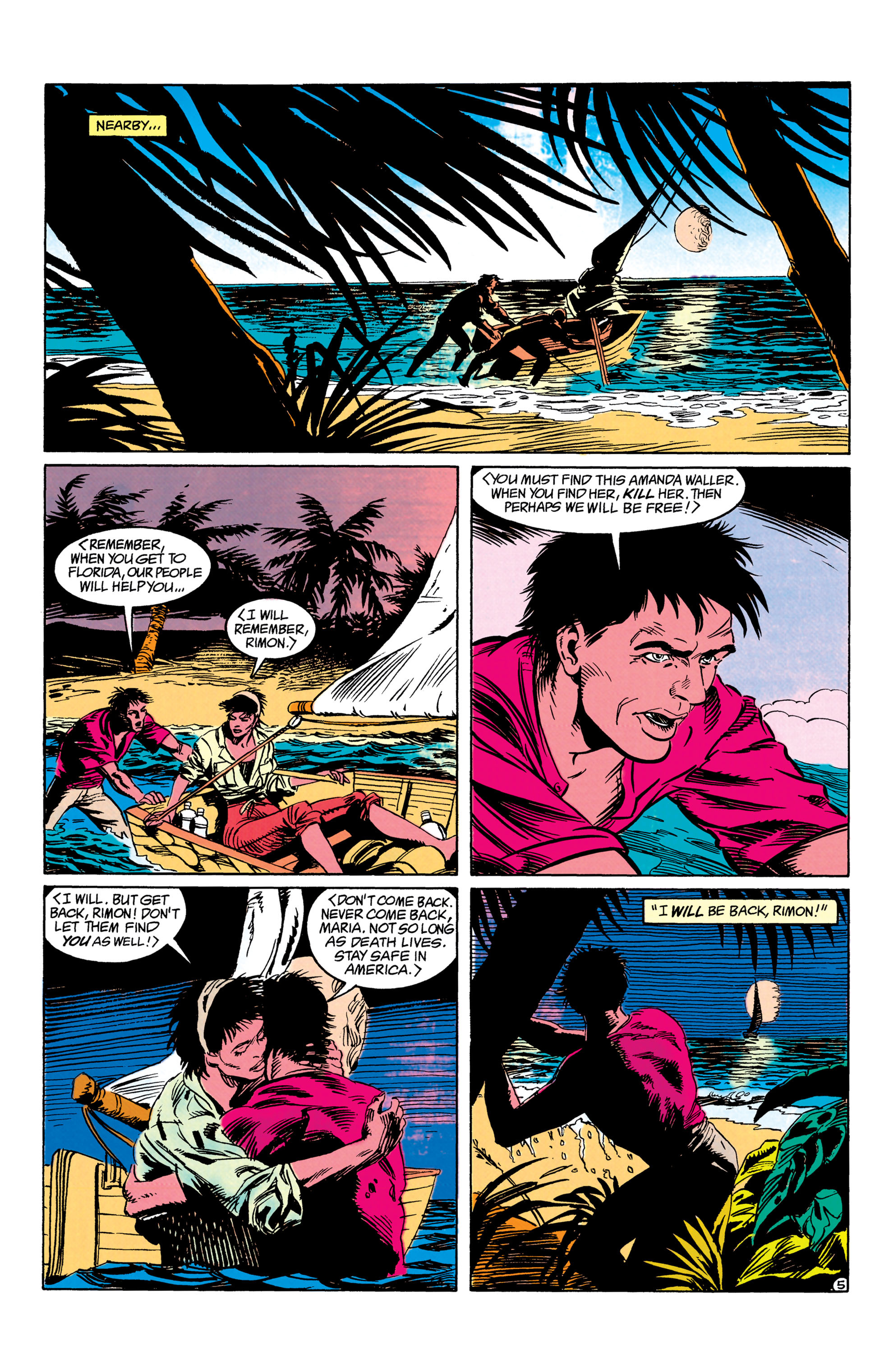 Read online Suicide Squad (1987) comic -  Issue #63 - 6