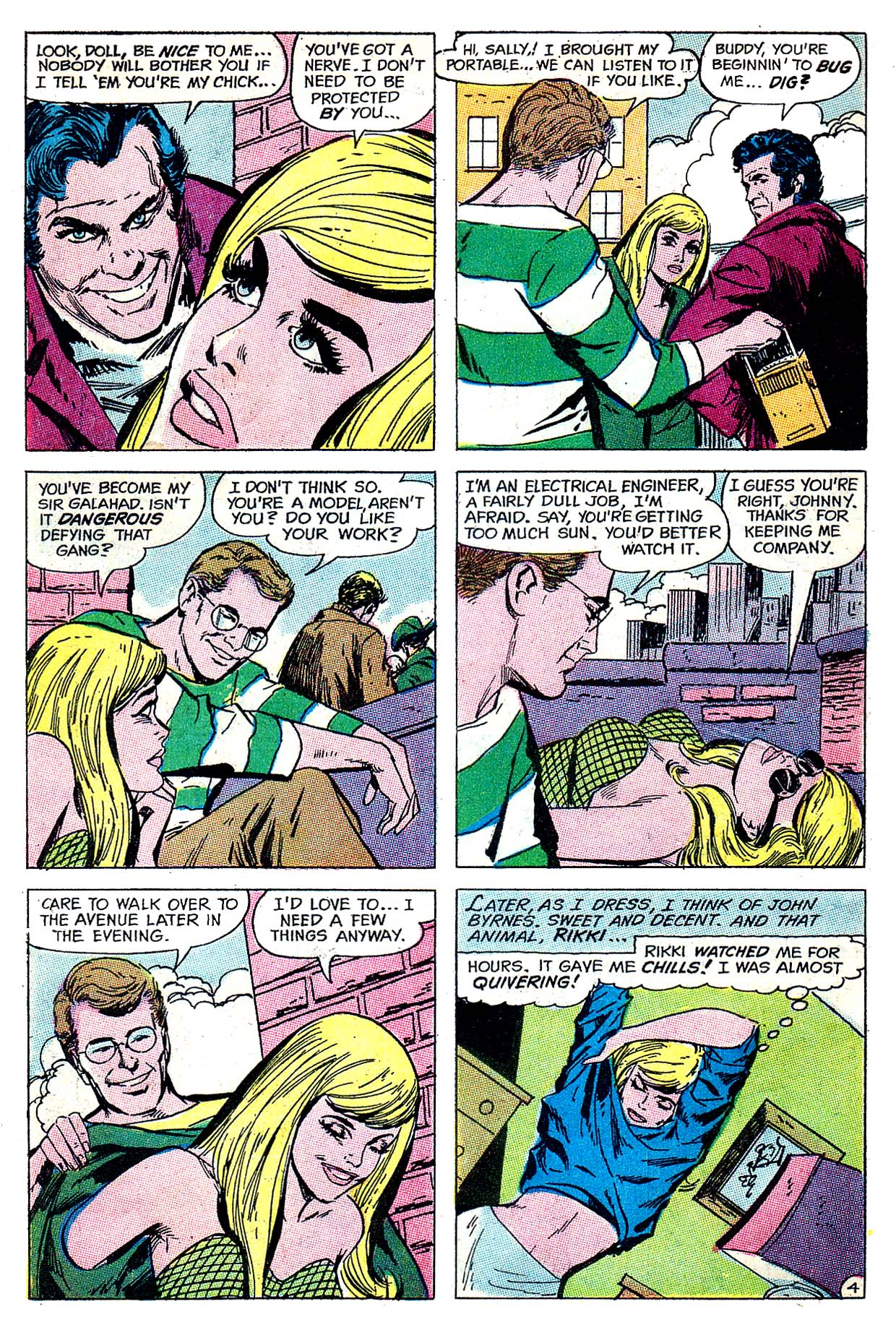 Read online Secret Hearts comic -  Issue #135 - 6