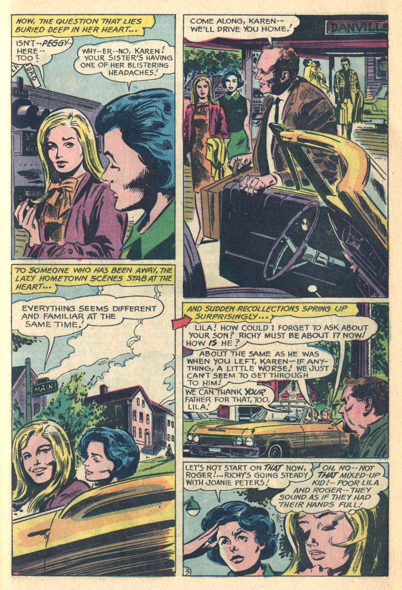 Read online Secret Hearts comic -  Issue #110 - 21