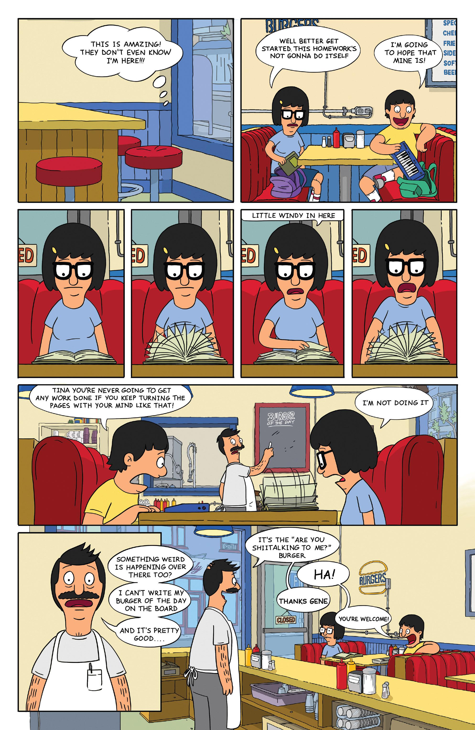 Read online Bob's Burgers (2014) comic -  Issue #4 - 14