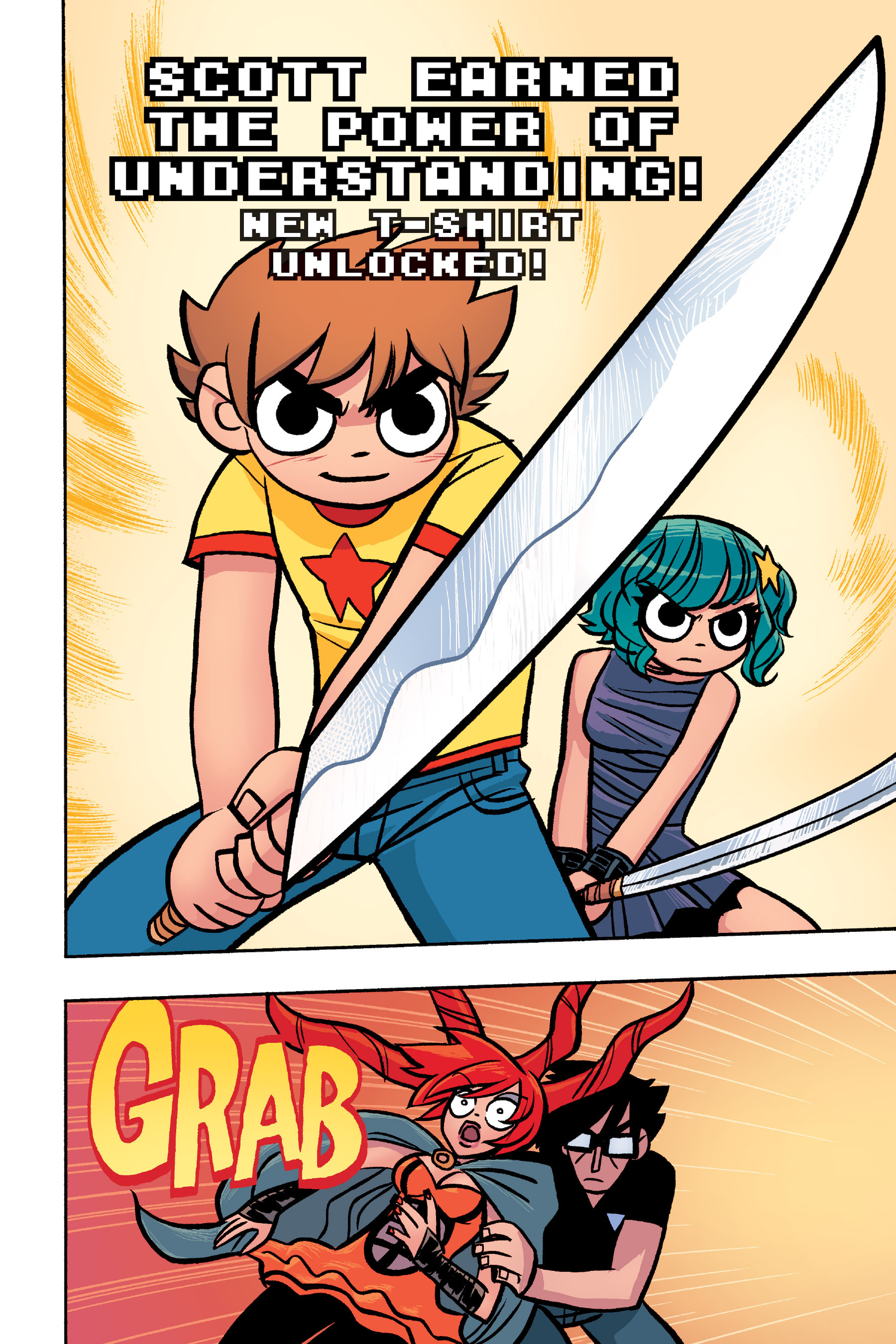 Read online Scott Pilgrim comic -  Issue #6 - 197