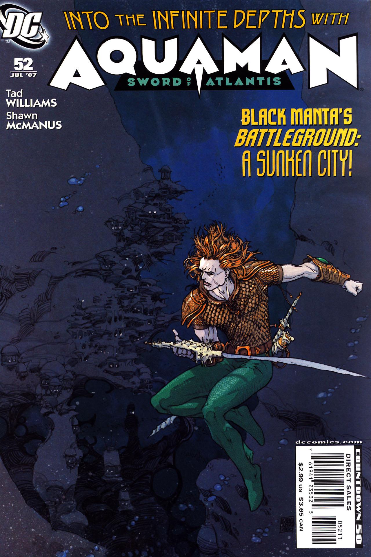 Aquaman: Sword of Atlantis 52 Page 1