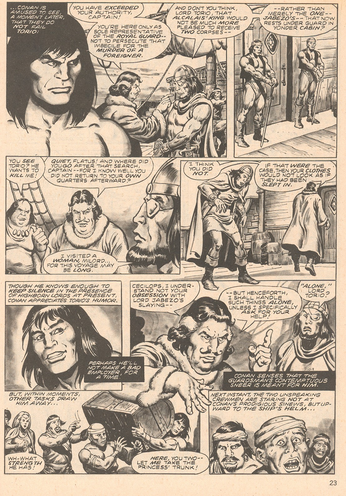 The Savage Sword Of Conan Issue #66 #67 - English 23