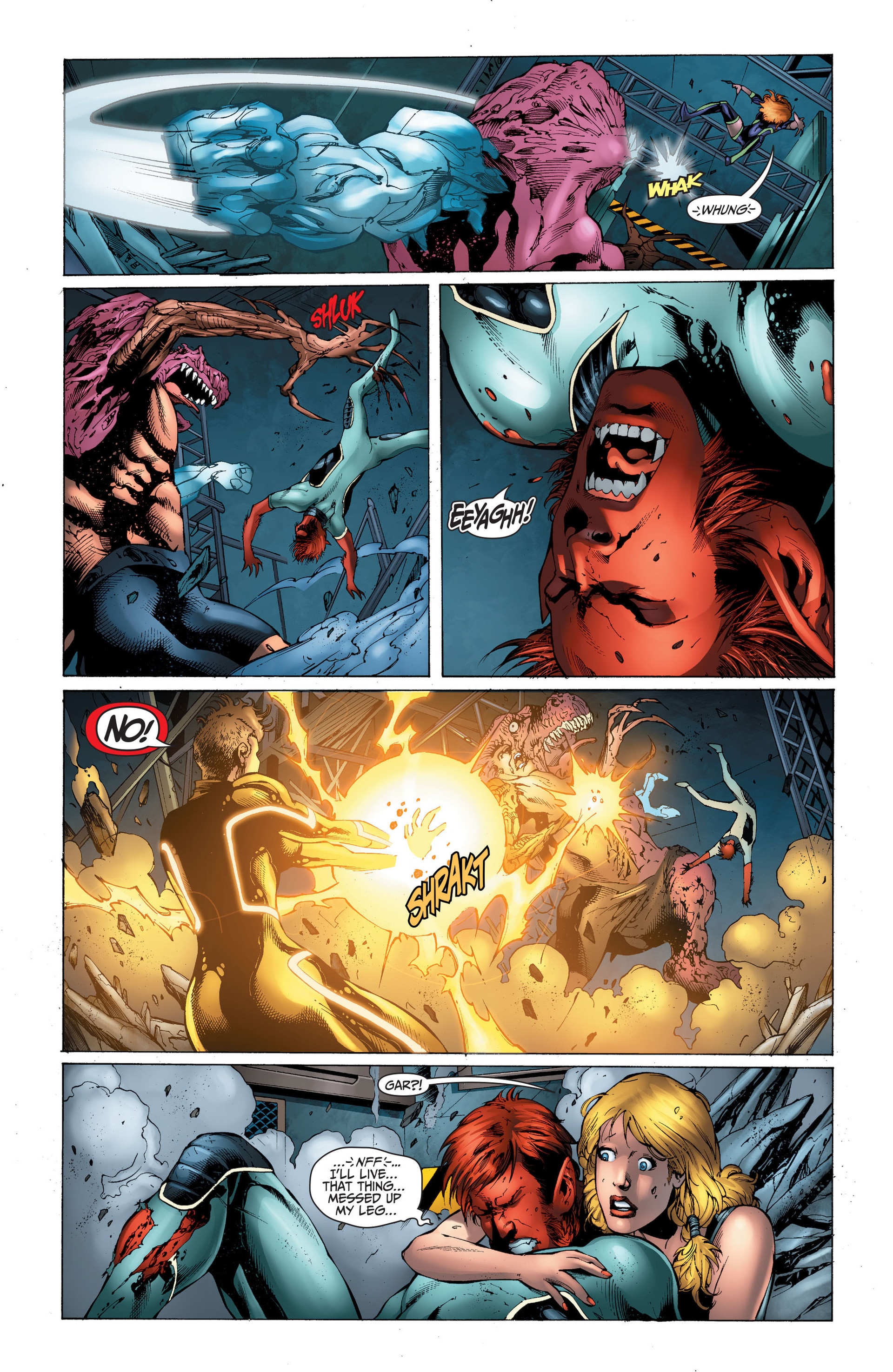 Read online The Ravagers comic -  Issue #11 - 13