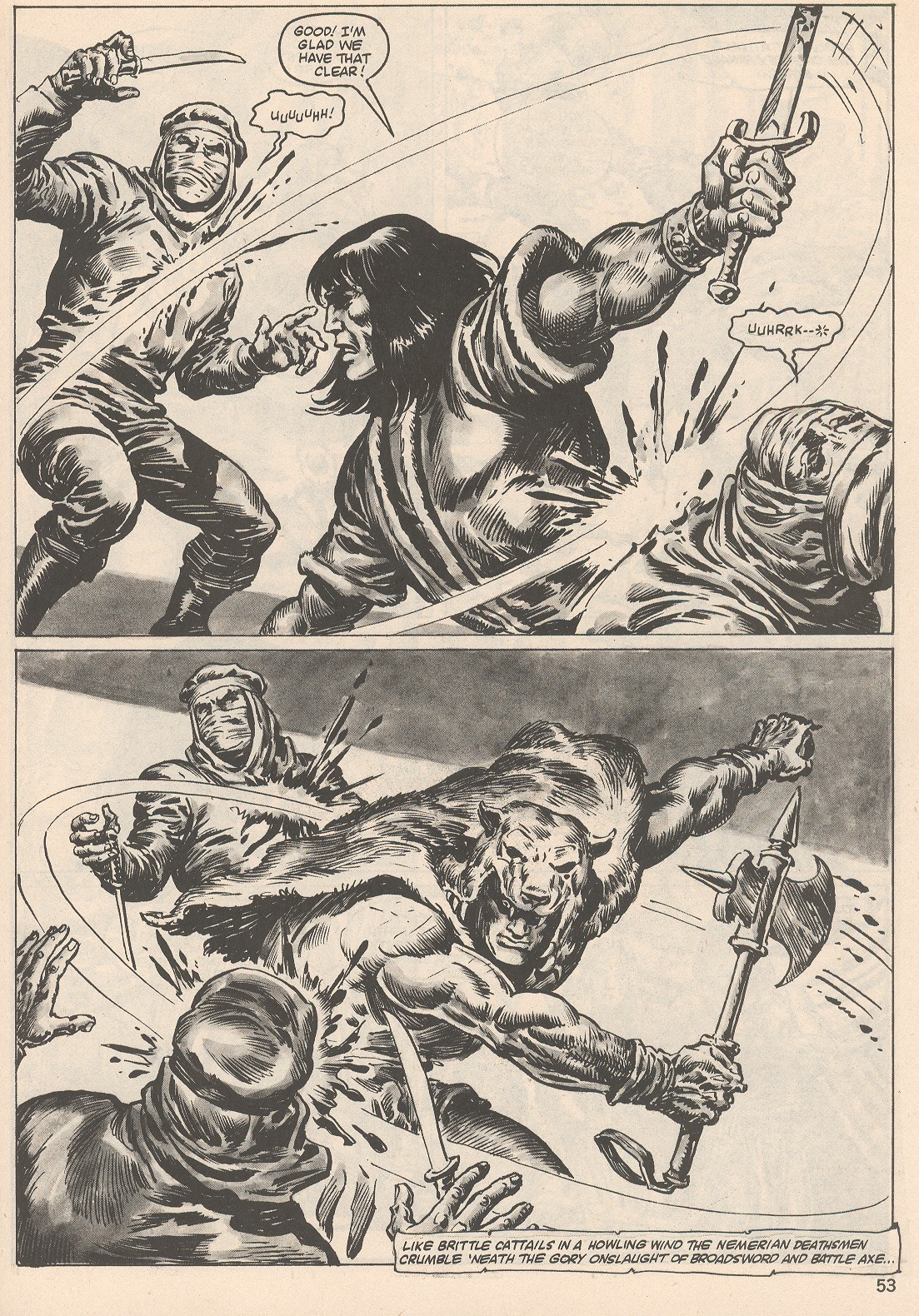 The Savage Sword Of Conan Issue #104 #105 - English 53