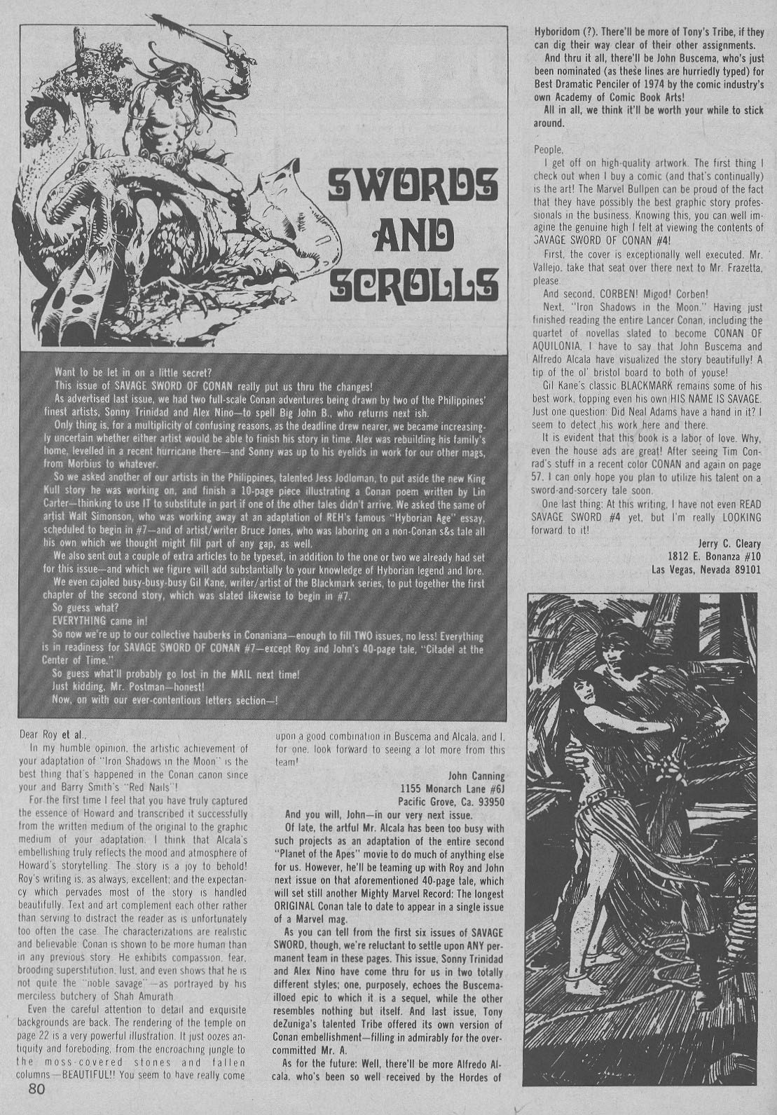 The Savage Sword Of Conan Issue #6 #7 - English 64