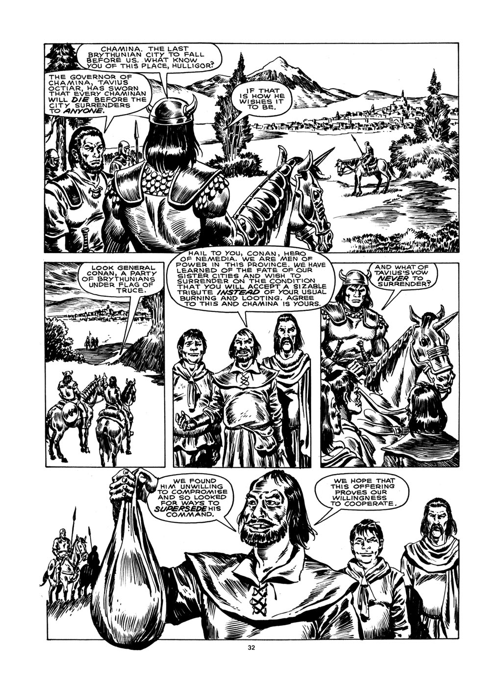 The Savage Sword Of Conan Issue #148 #149 - English 31