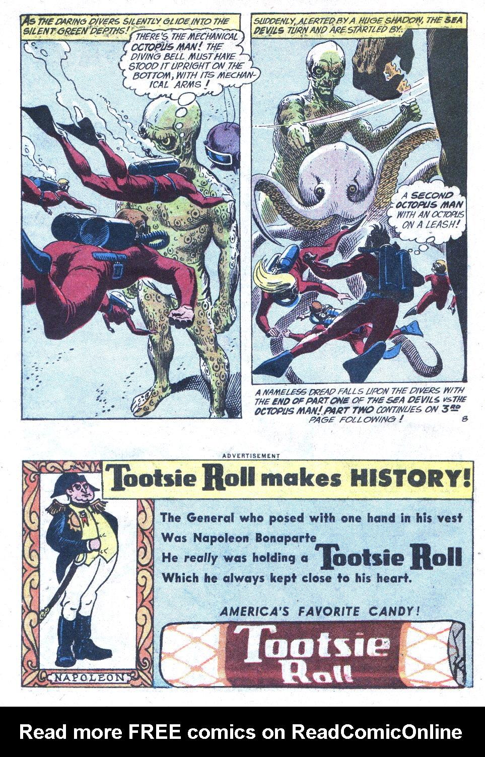 Read online Sea Devils comic -  Issue #1 - 11