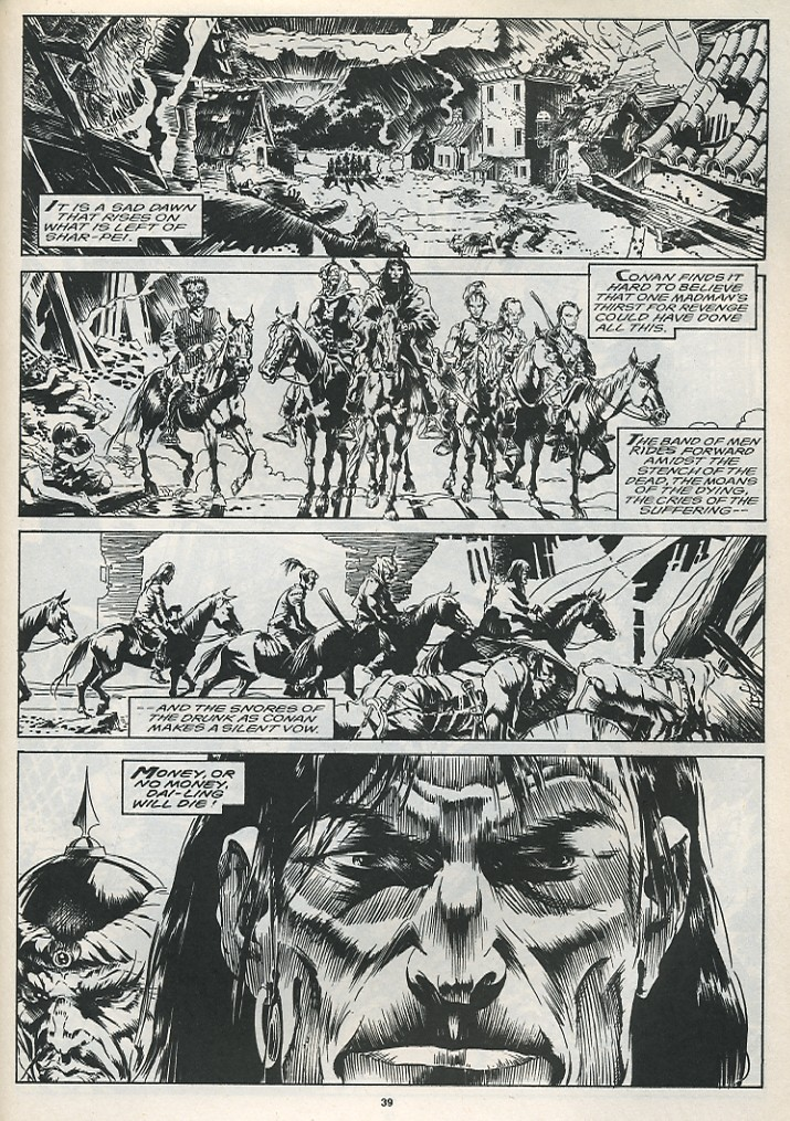The Savage Sword Of Conan Issue #175 #176 - English 41