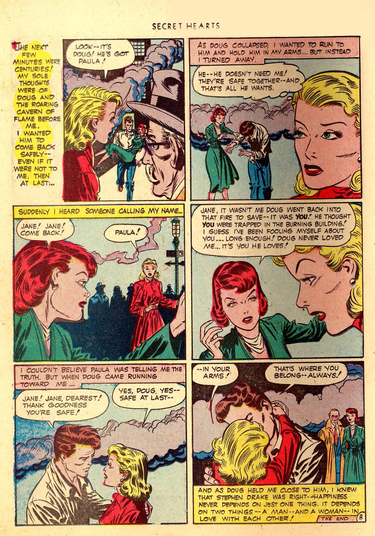 Read online Secret Hearts comic -  Issue #4 - 20
