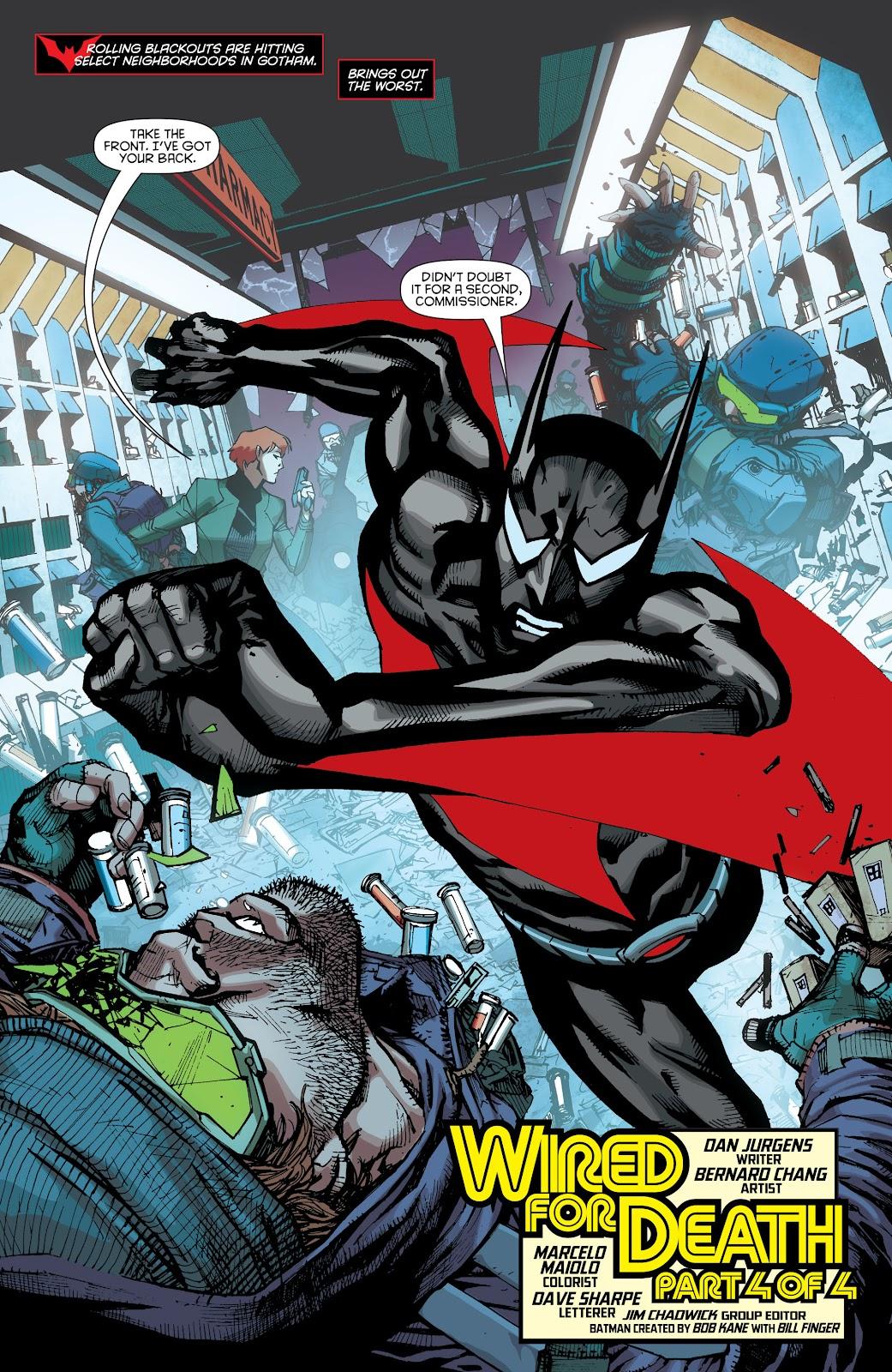 Batman Beyond (2015) Issue #15 #15 - English 3