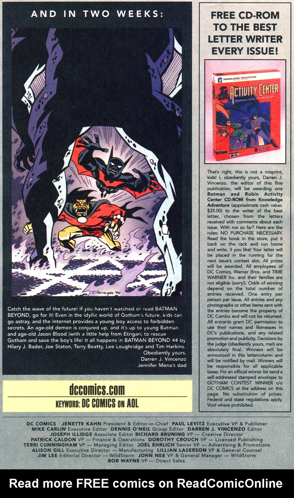 Batman: Gotham Adventures 13 Page 25
