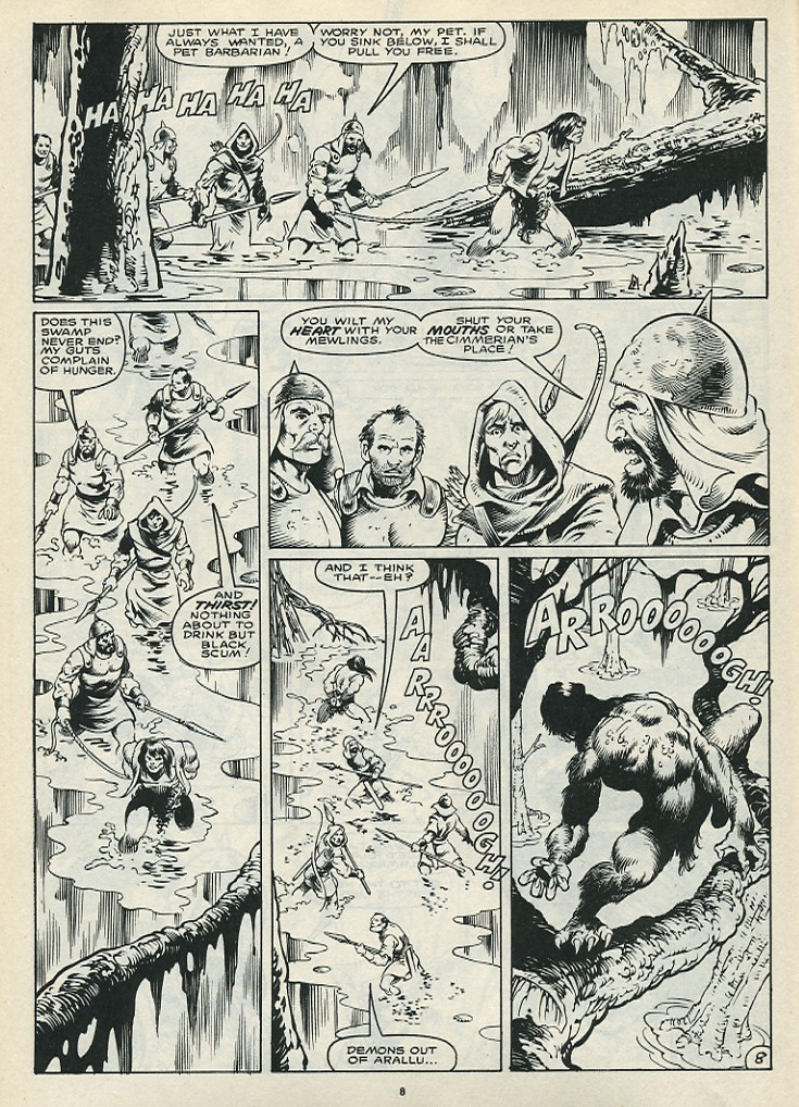 The Savage Sword Of Conan Issue #172 #173 - English 10