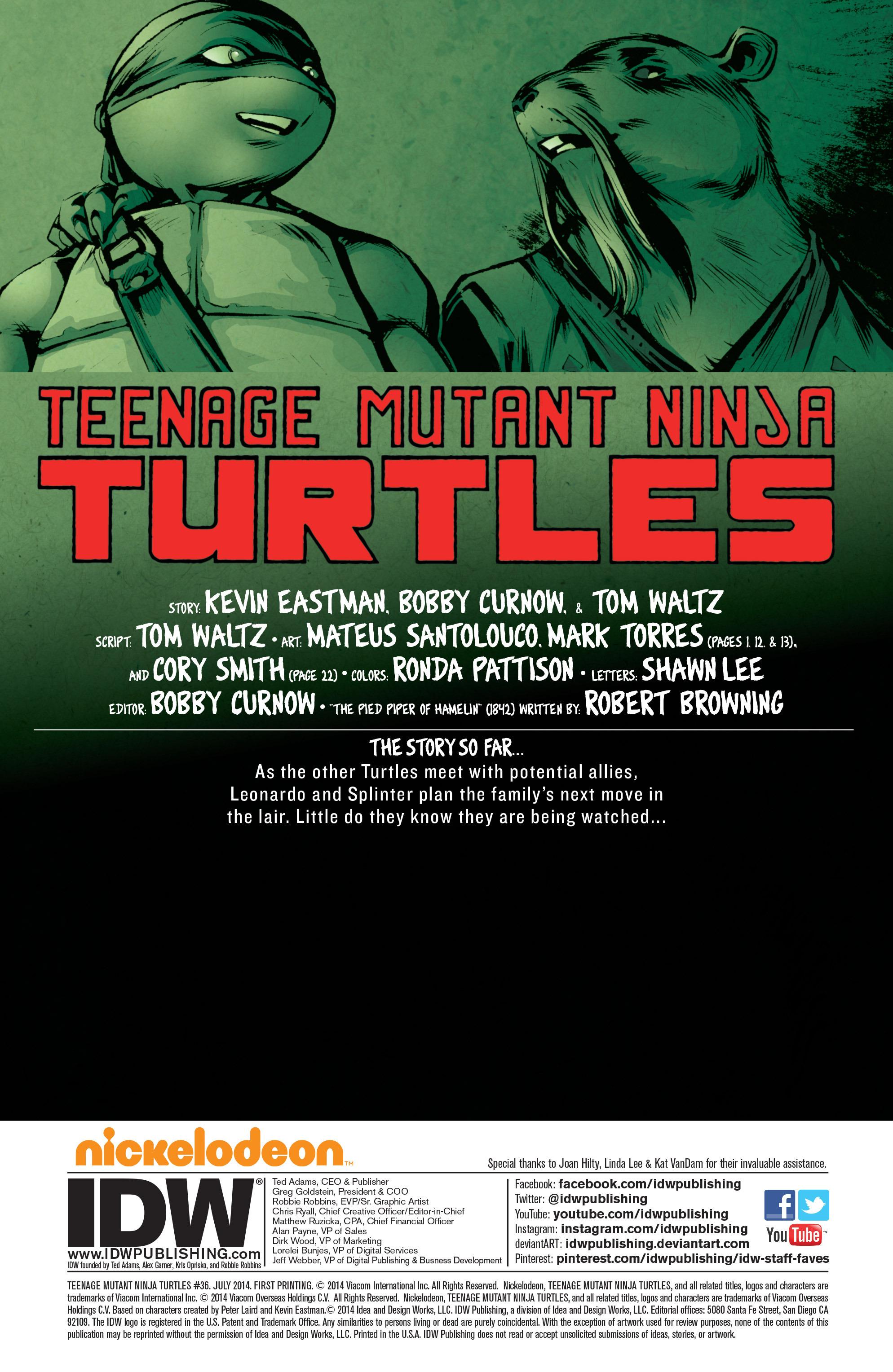 Read online Teenage Mutant Ninja Turtles (2011) comic -  Issue #36 - 3