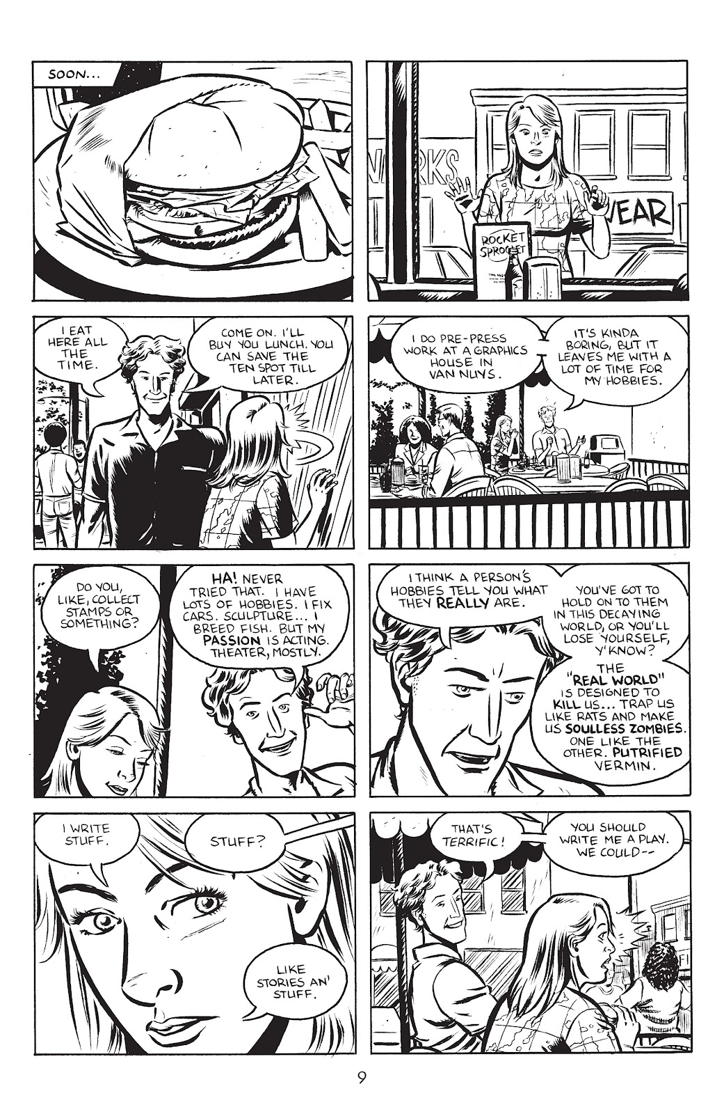 Stray Bullets Issue #25 #25 - English 11