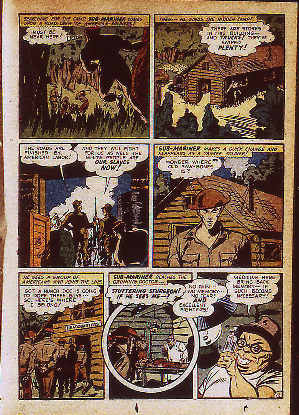 Sub-Mariner Comics Issue #8 #8 - English 36