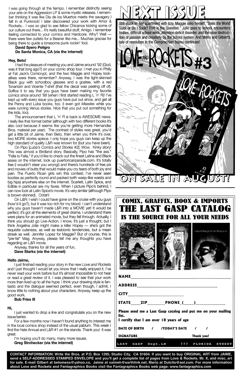 Read online Love and Rockets (2001) comic -  Issue #2 - 33