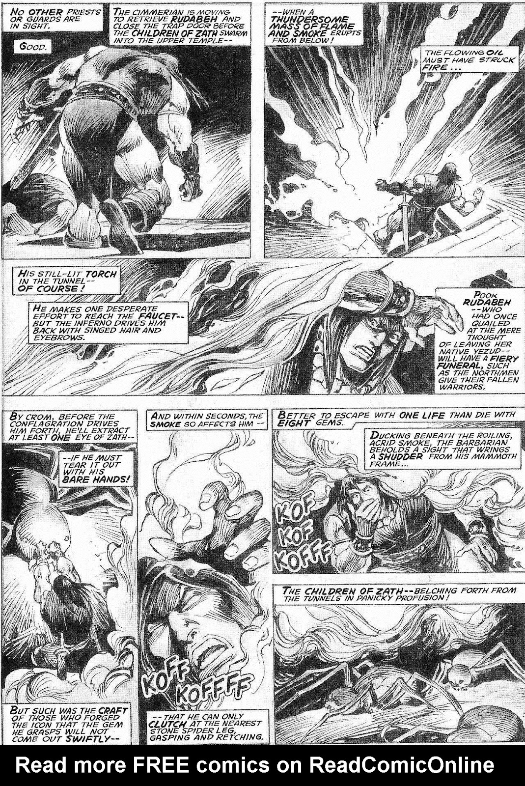 The Savage Sword Of Conan Issue #210 #211 - English 33