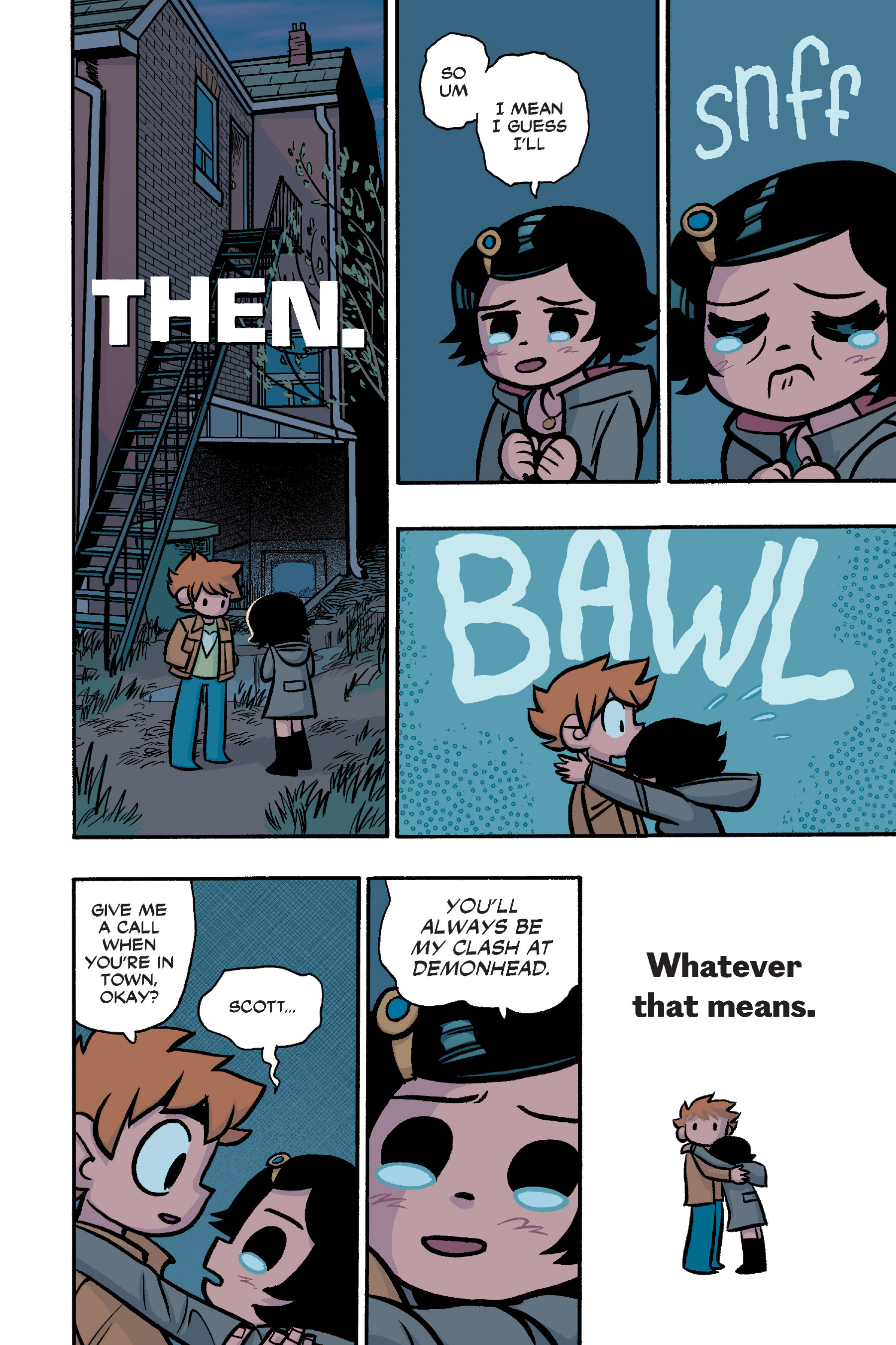 Read online Scott Pilgrim comic -  Issue #6 - 235