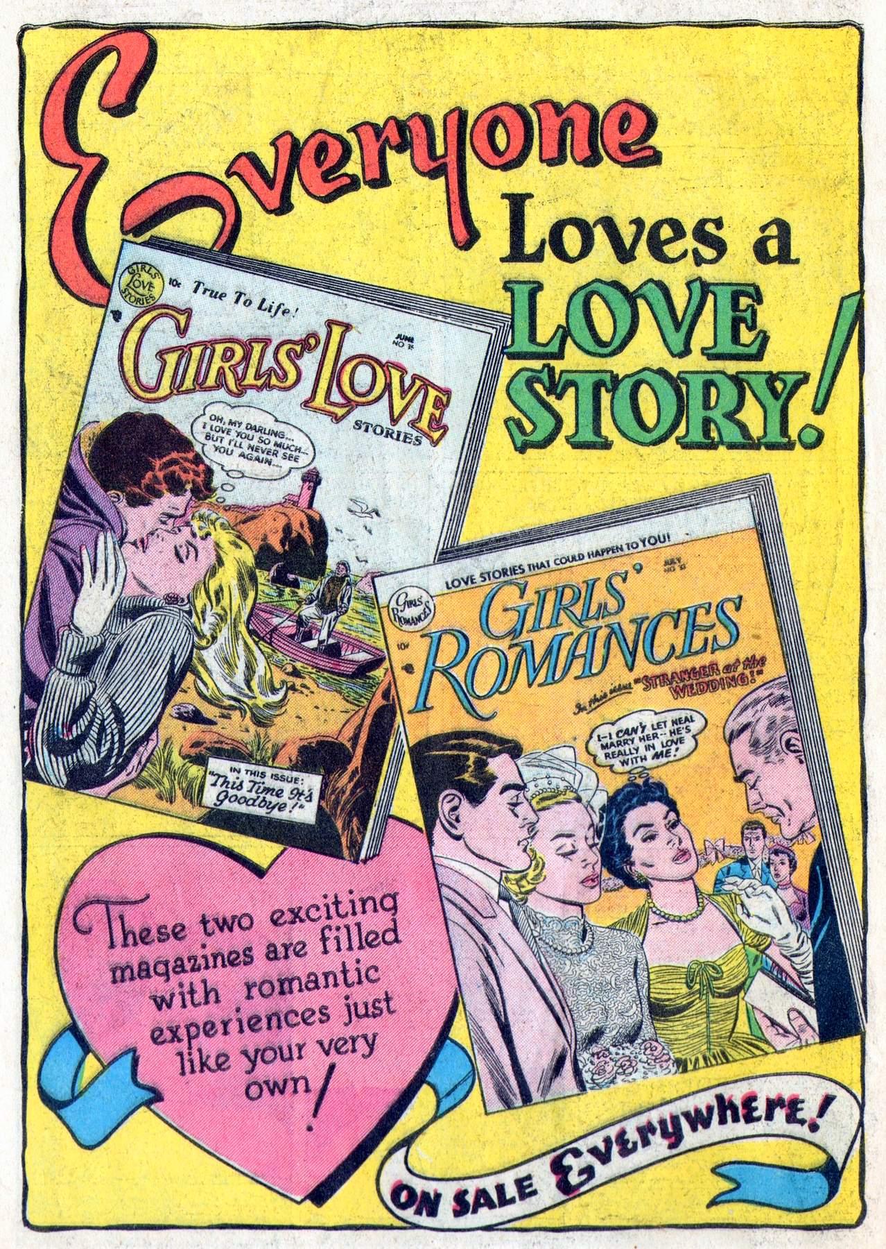 Read online Secret Hearts comic -  Issue #28 - 34