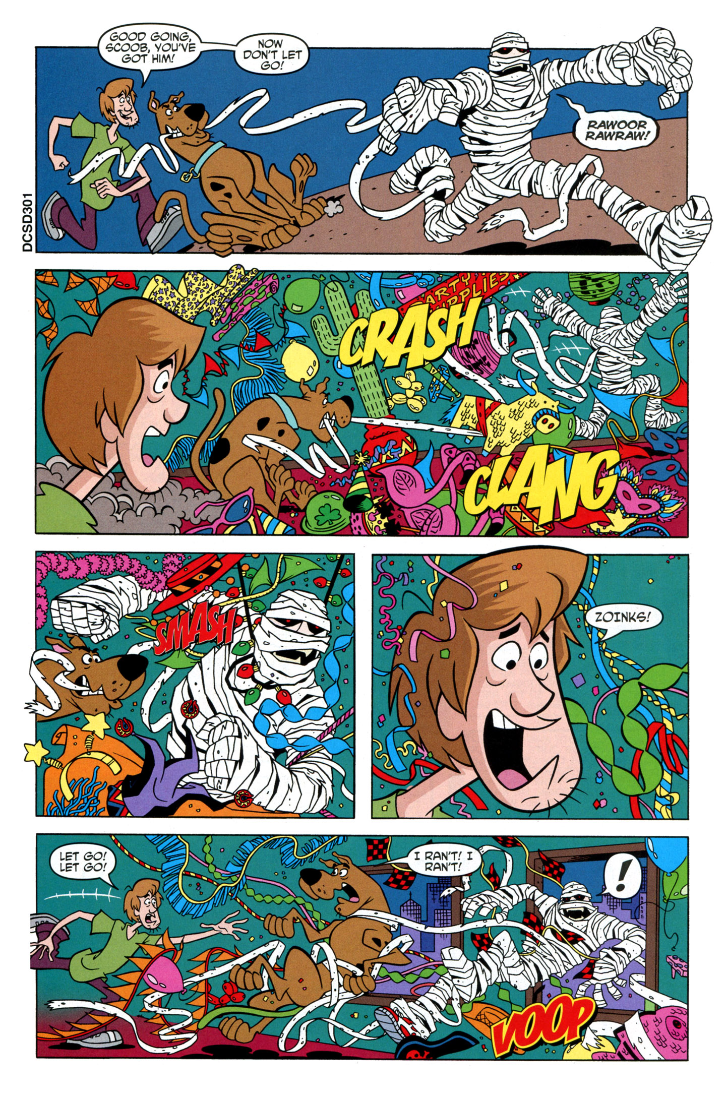Read online Scooby-Doo: Where Are You? comic -  Issue #24 - 28
