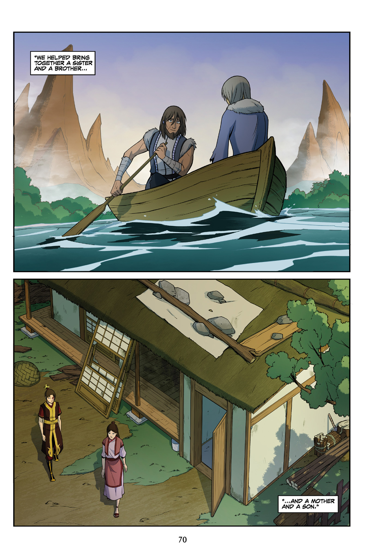 Read online Nickelodeon Avatar: The Last Airbender - The Search comic -  Issue # Part 3 - 70