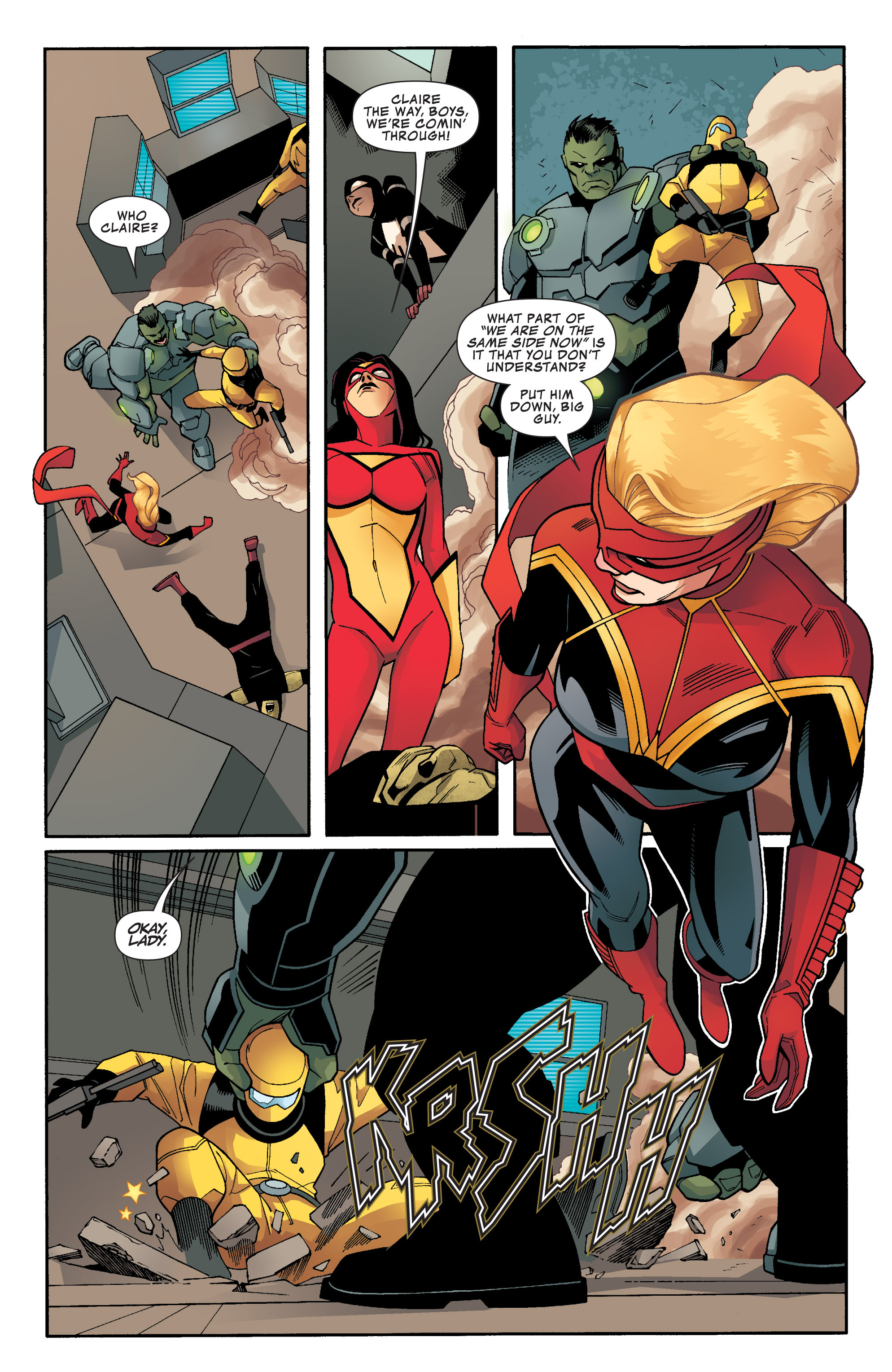 Read online Avengers Assemble (2012) comic -  Issue #25 - 12