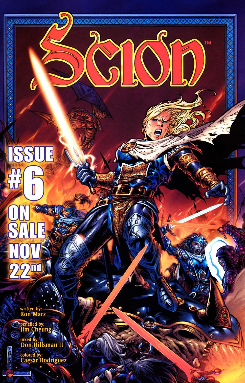 Read online Scion comic -  Issue #5 - 24