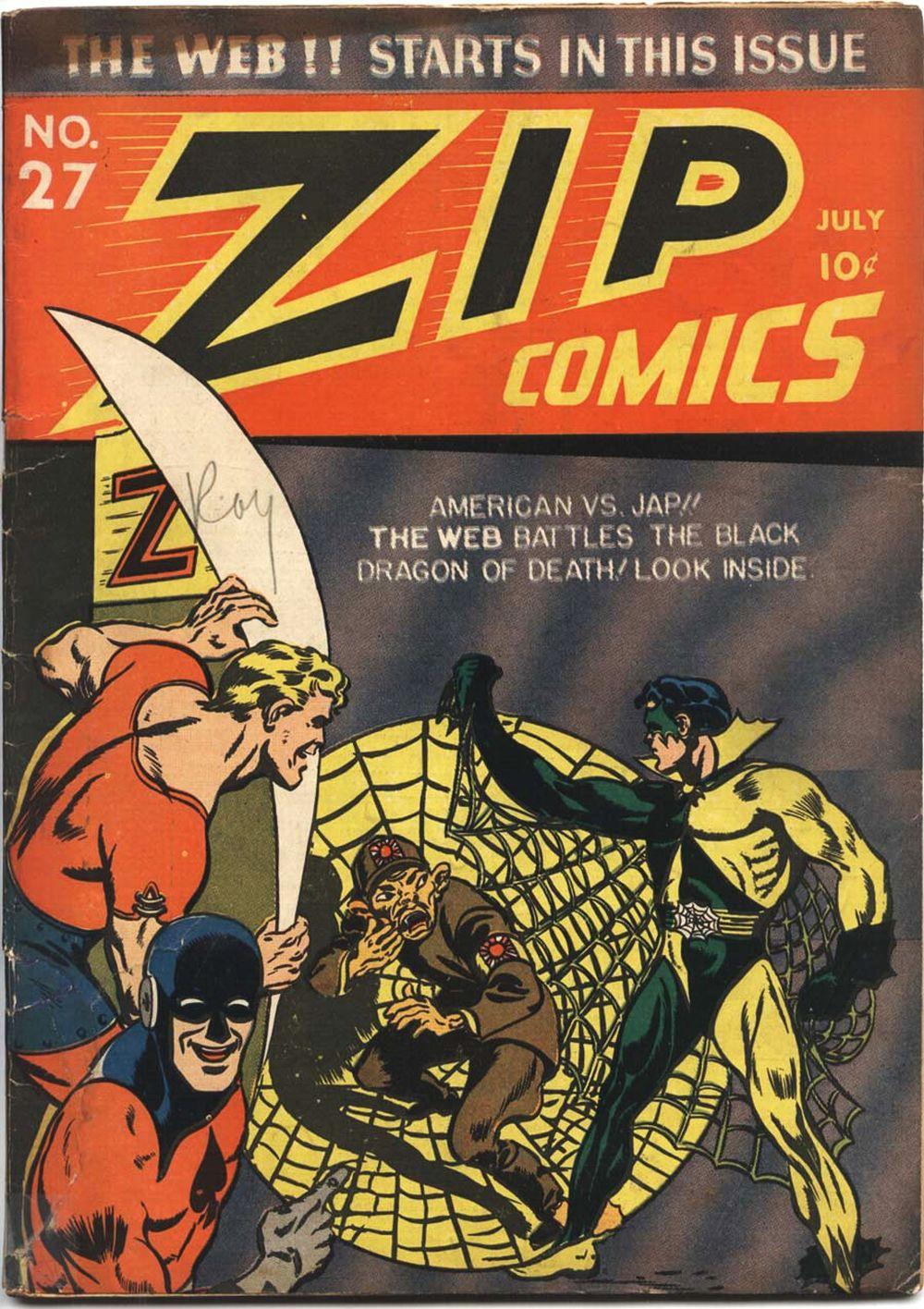 Zip Comics 27 Page 1