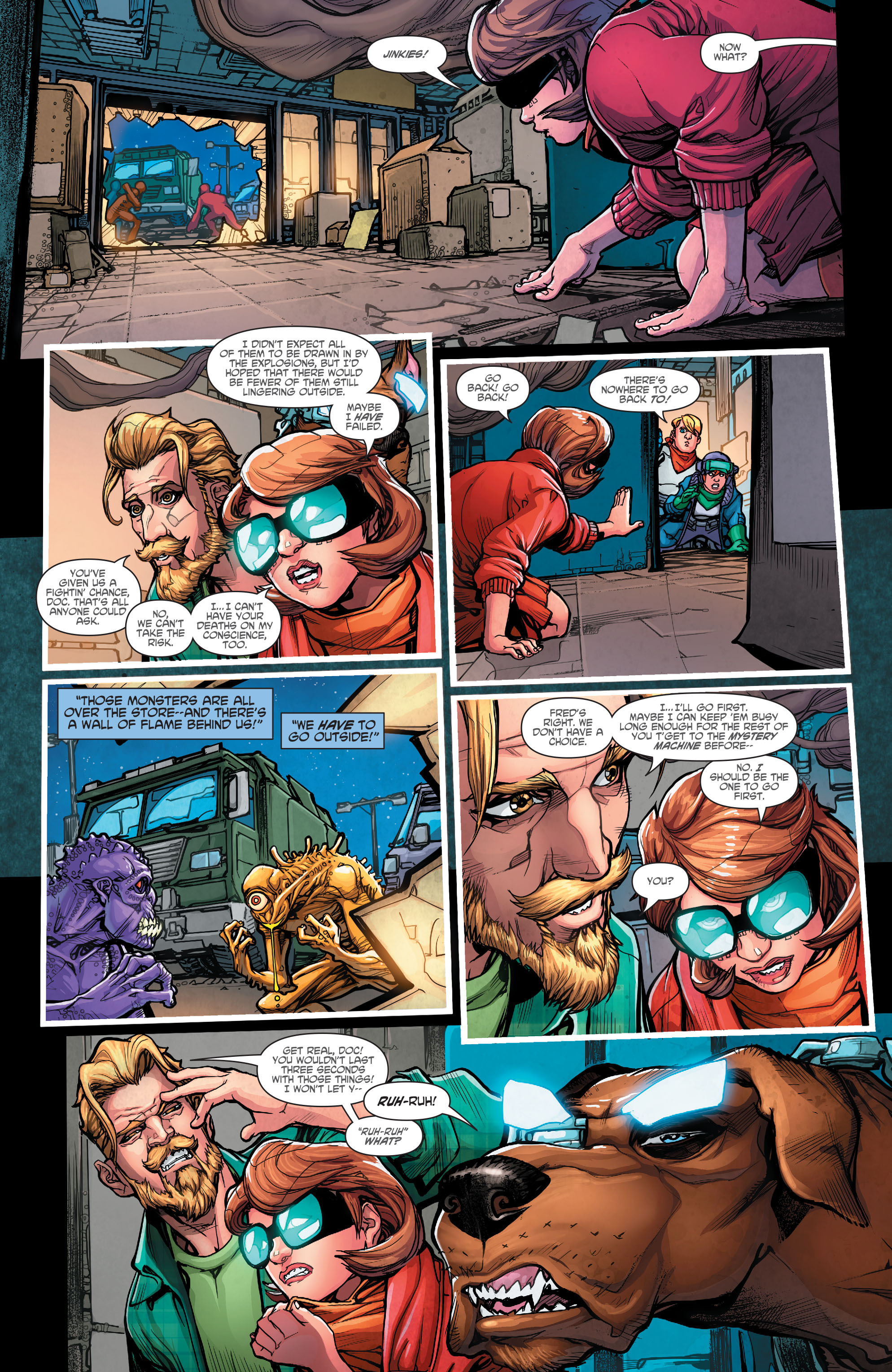 Read online Scooby Apocalypse comic -  Issue #7 - 18