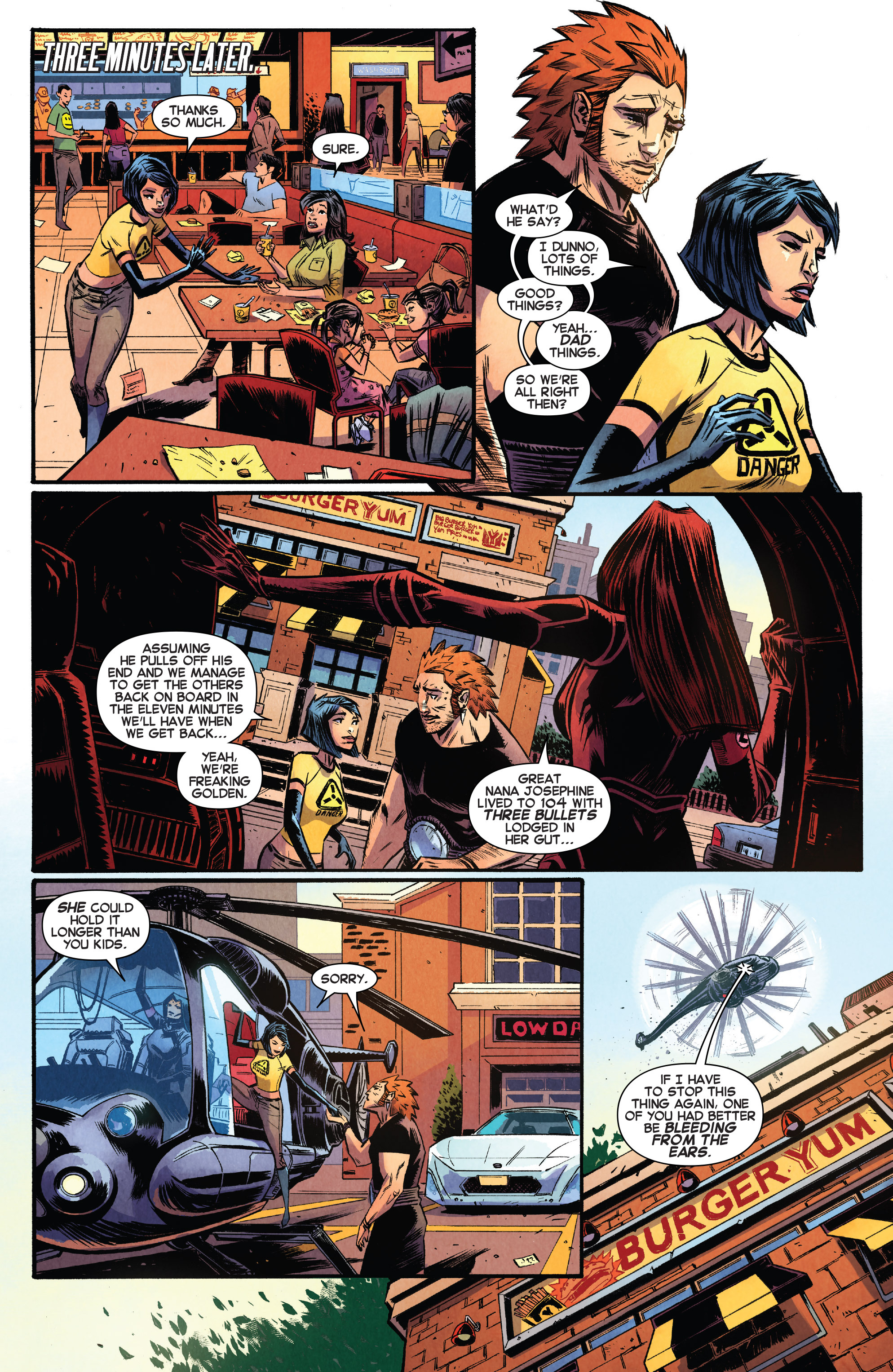 Read online Avengers Undercover comic -  Issue #8 - 11