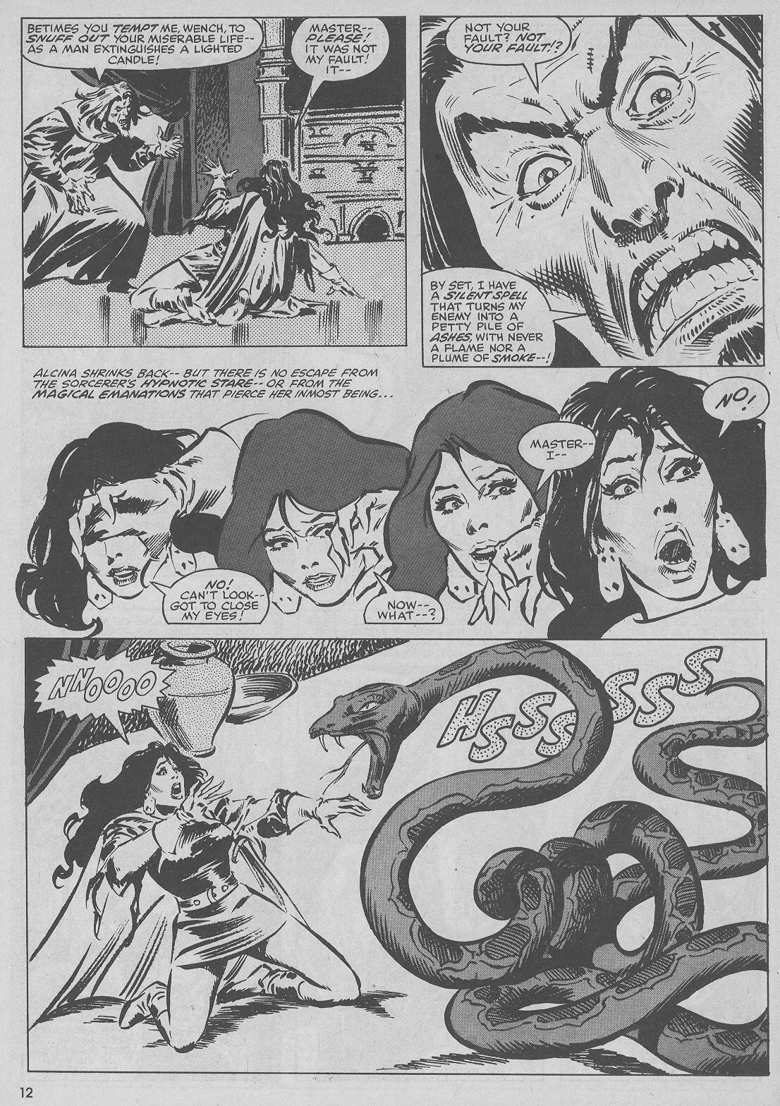 The Savage Sword Of Conan Issue #51 #52 - English 12