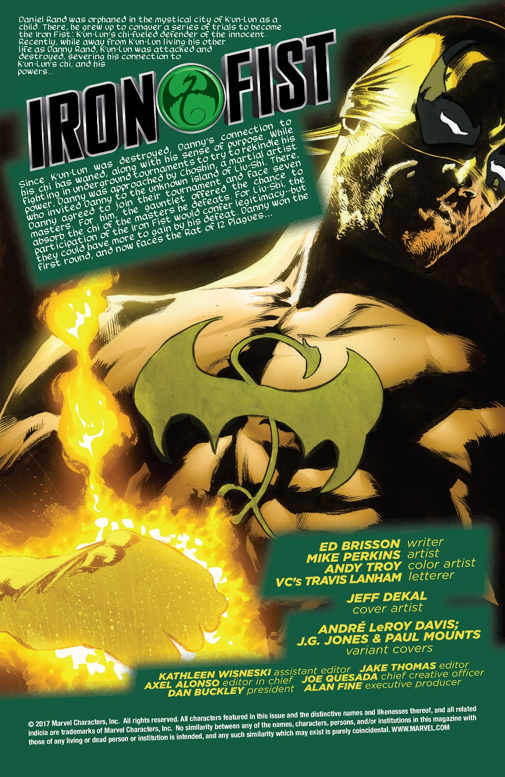 Iron Fist (2017) Issue #3 #3 - English 2