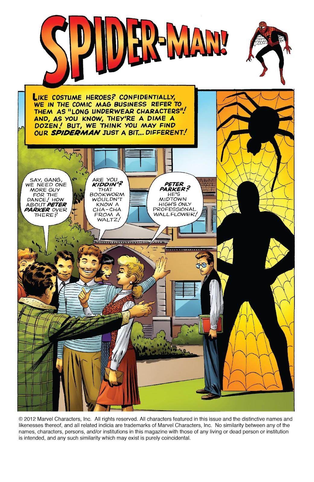 Amazing Fantasy #15: Spider-Man! Full #1 - English 3