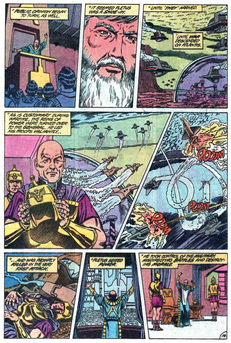 Aquaman (1989) Issue #1 #1 - English 15