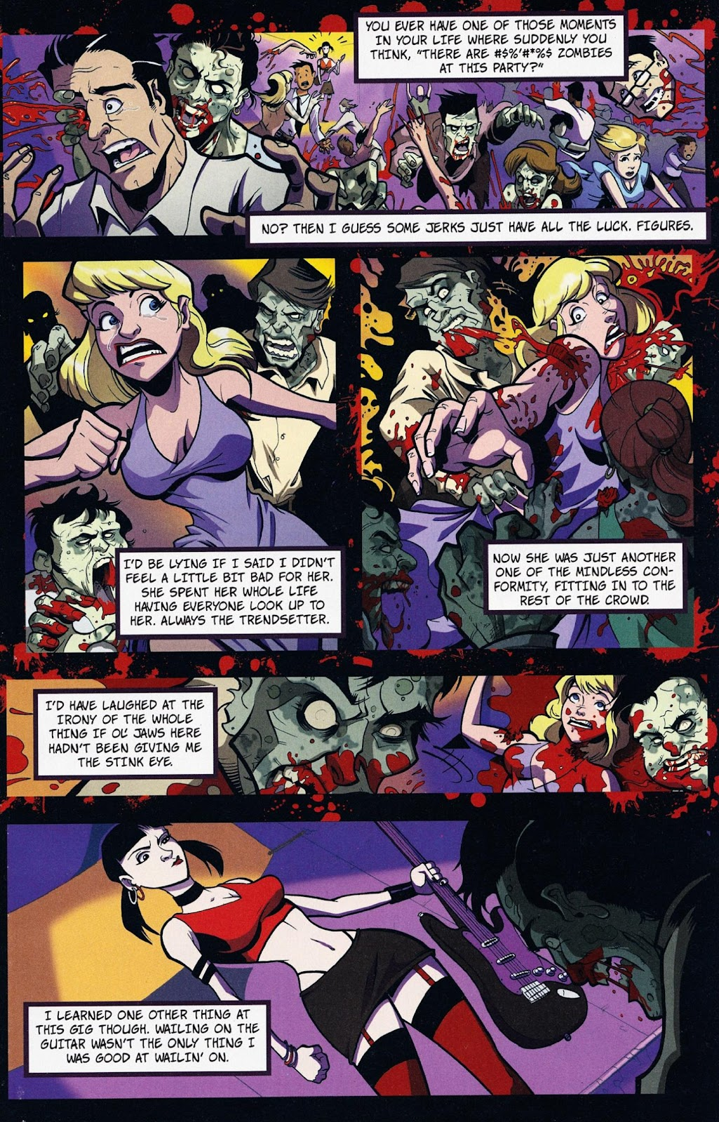 Zombies vs Cheerleaders Issue #1 Page 17