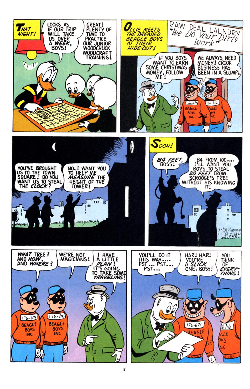 Uncle Scrooge (1953) Issue #251 #251 - English 9