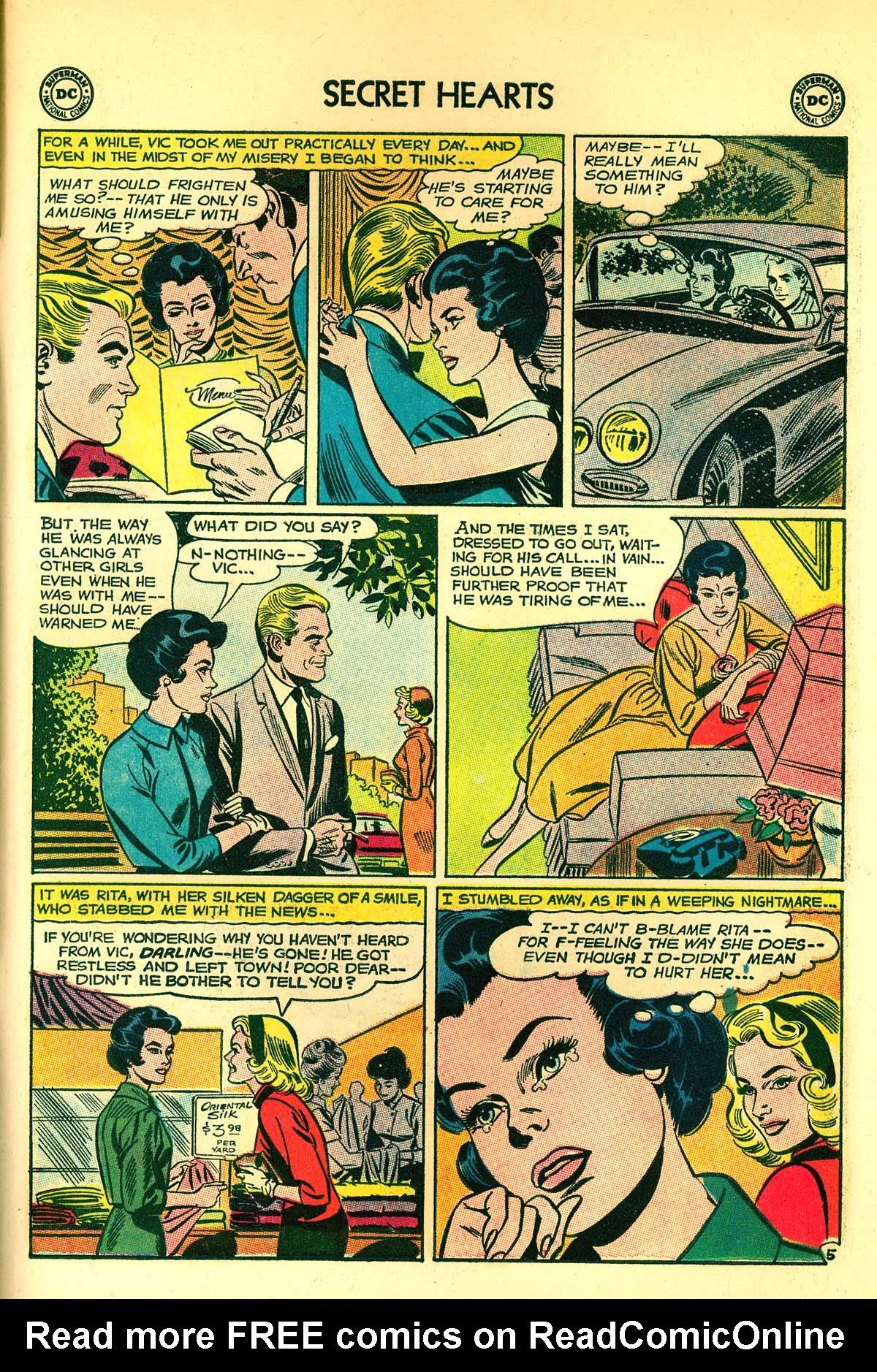 Read online Secret Hearts comic -  Issue #89 - 31