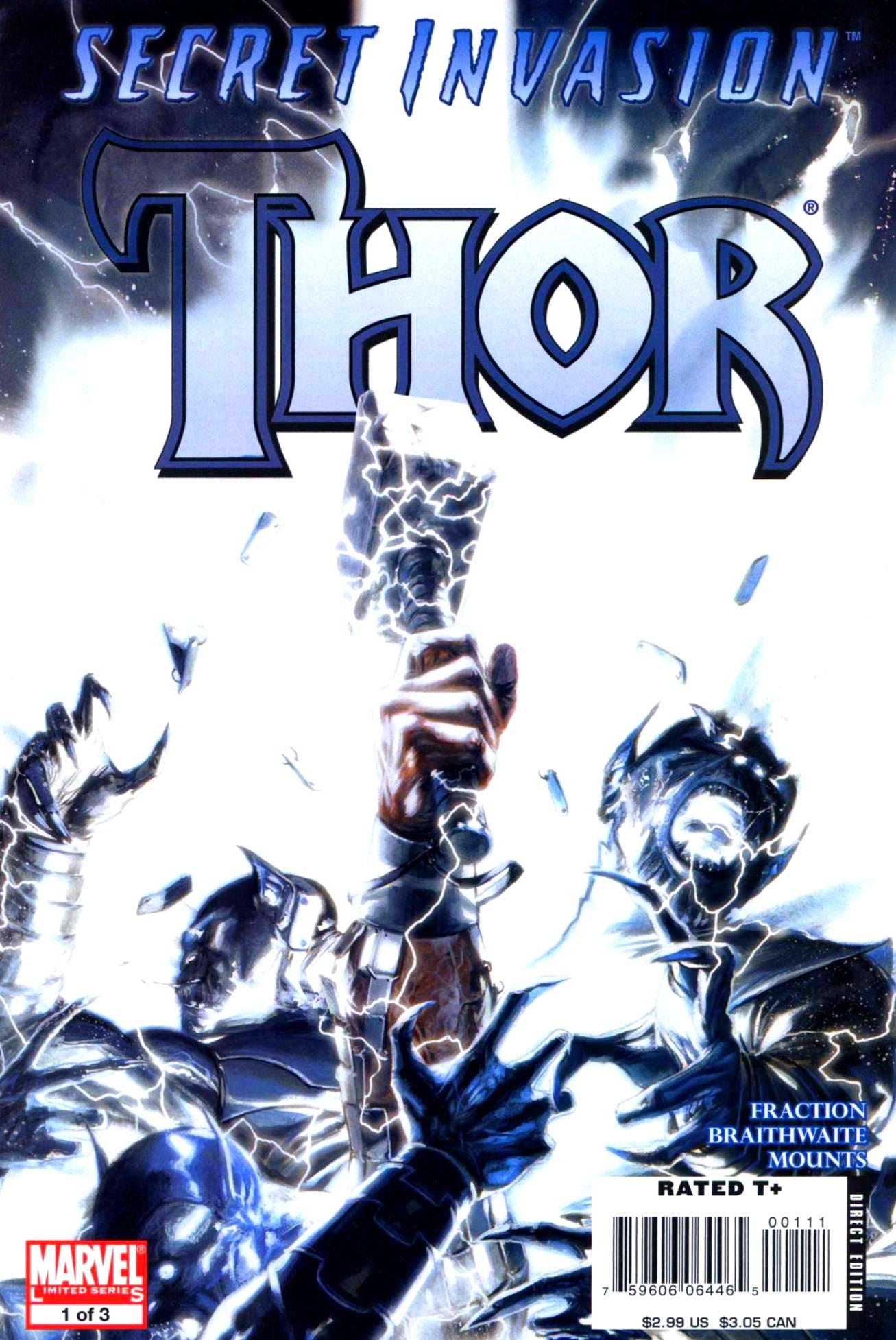 Read online Secret Invasion: Thor comic -  Issue #1 - 1
