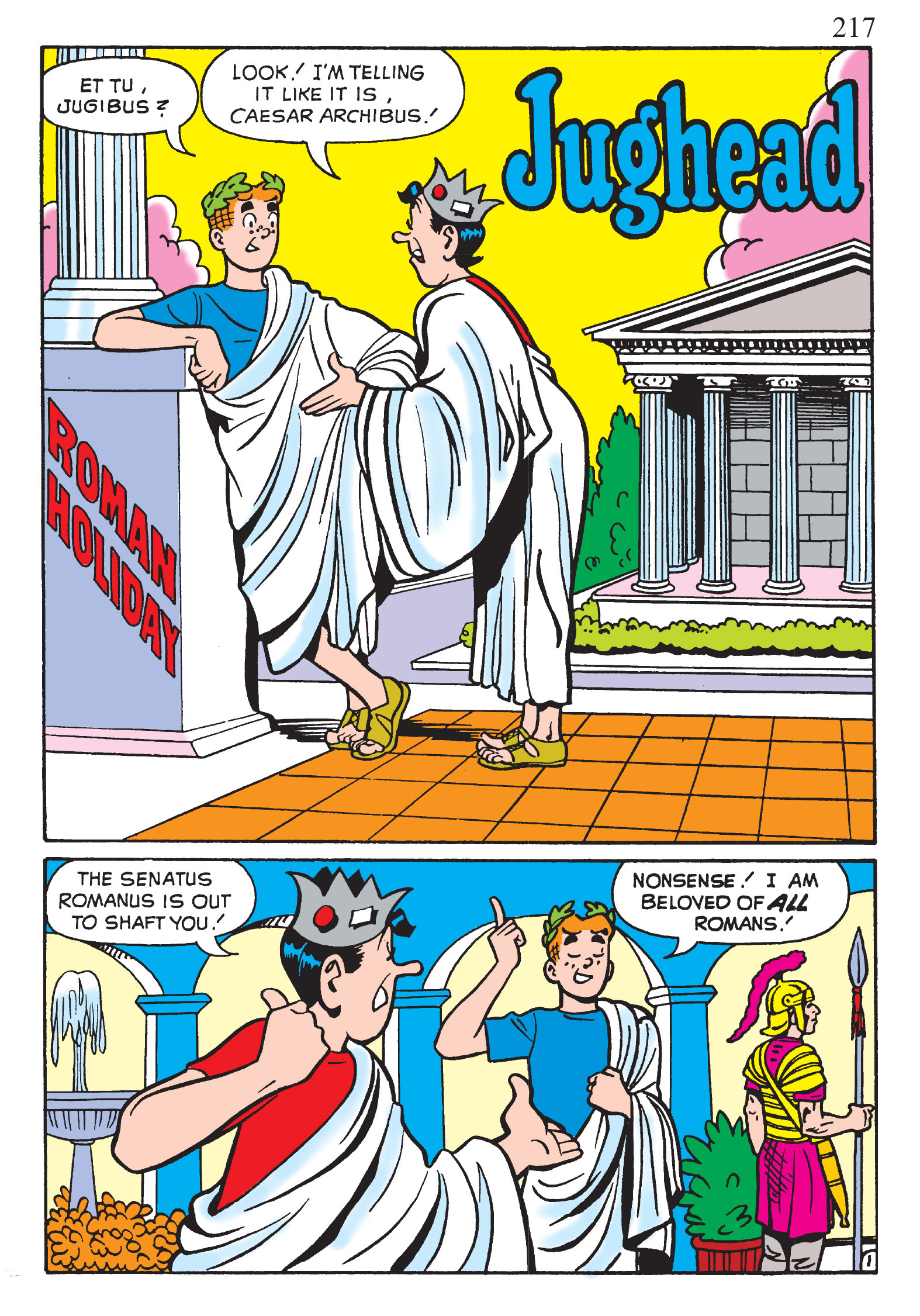 Read online The Best of Archie Comics comic -  Issue # TPB 2 (Part 1) - 219